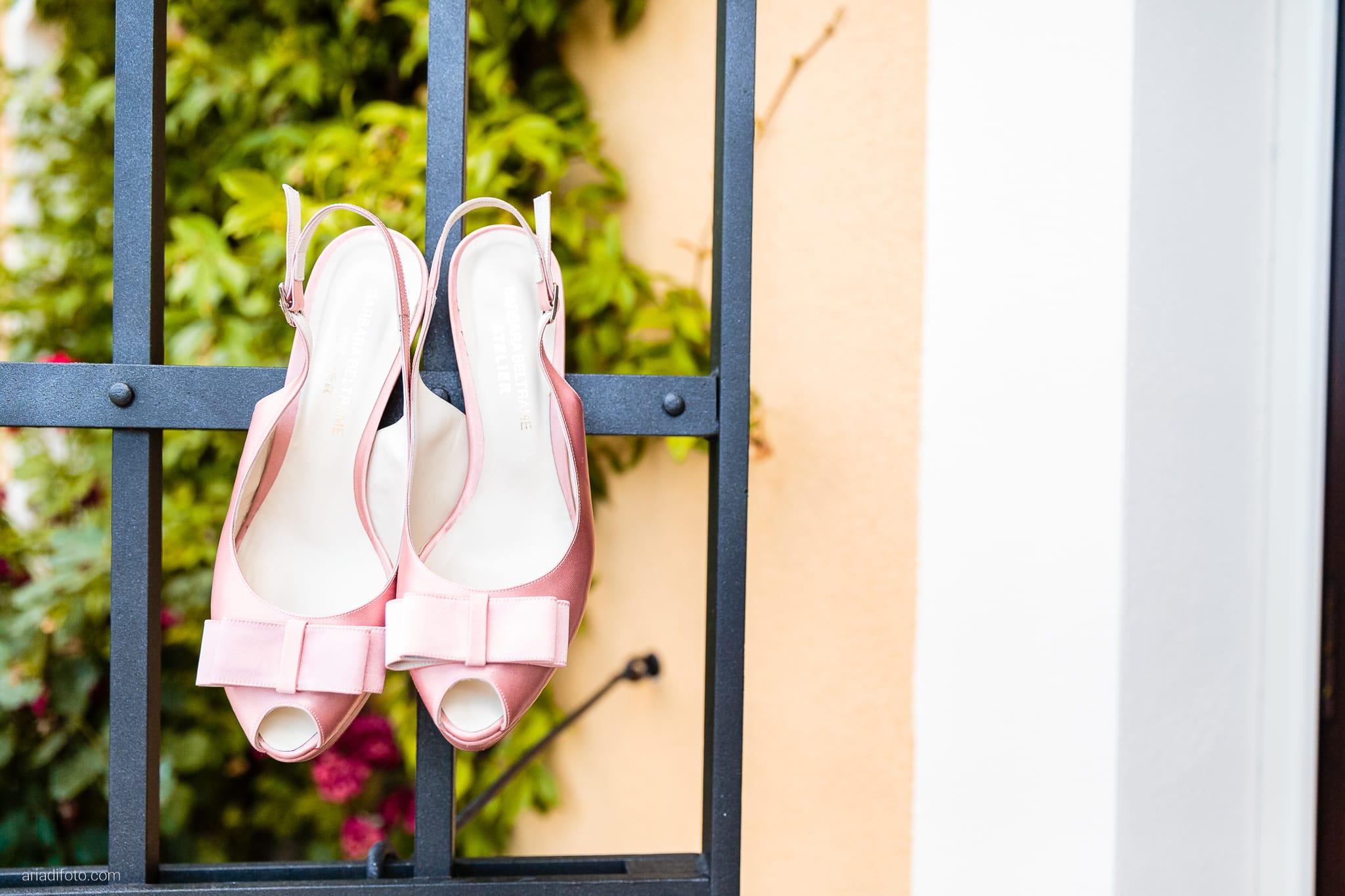 Sofia Mario Matrimonio Baronesse Tacco Collio Gorizia preparativi dettagli scarpe