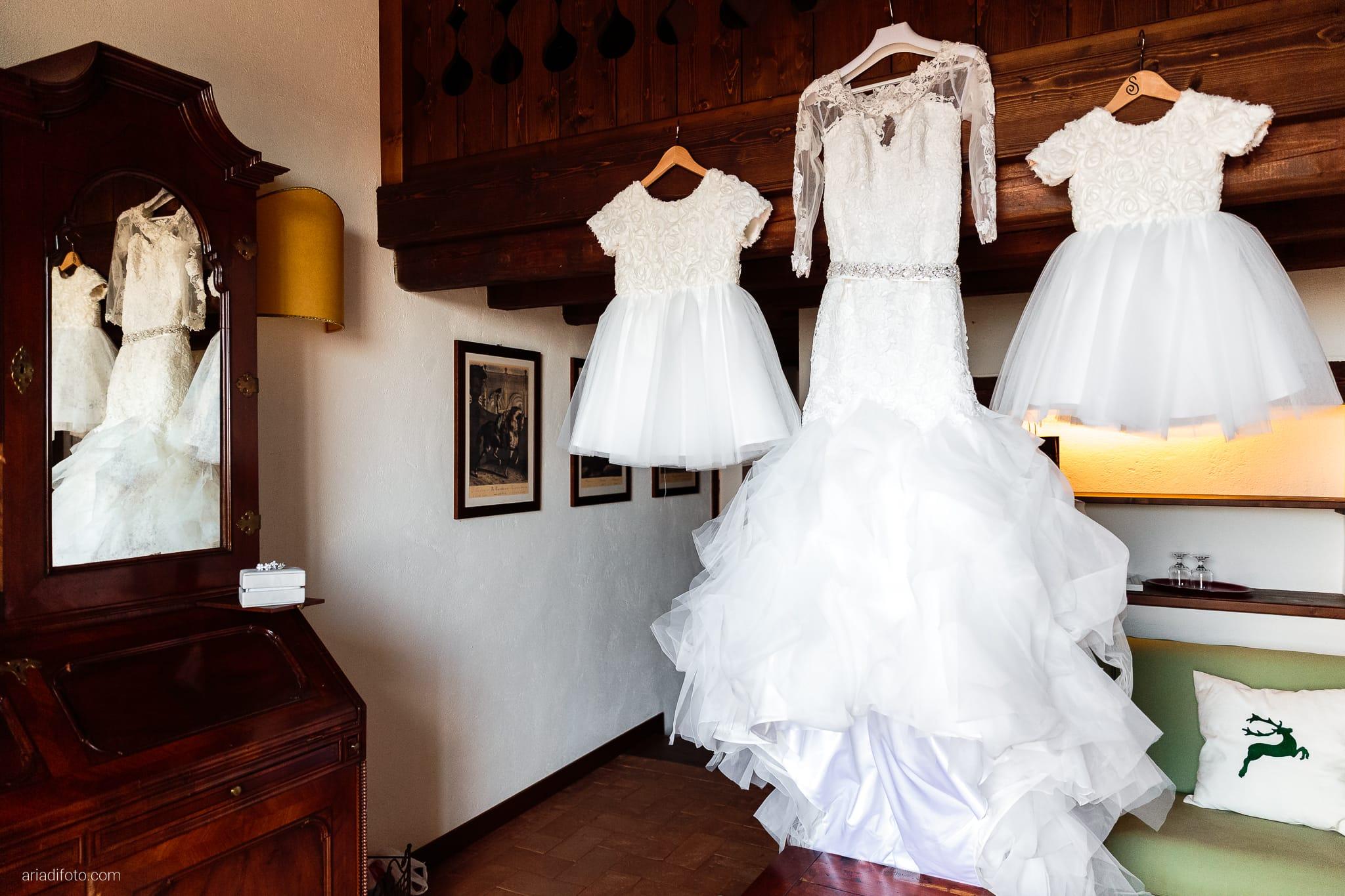 Sofia Mario Matrimonio Baronesse Tacco Collio Gorizia preparativi dettagli abito damigelle