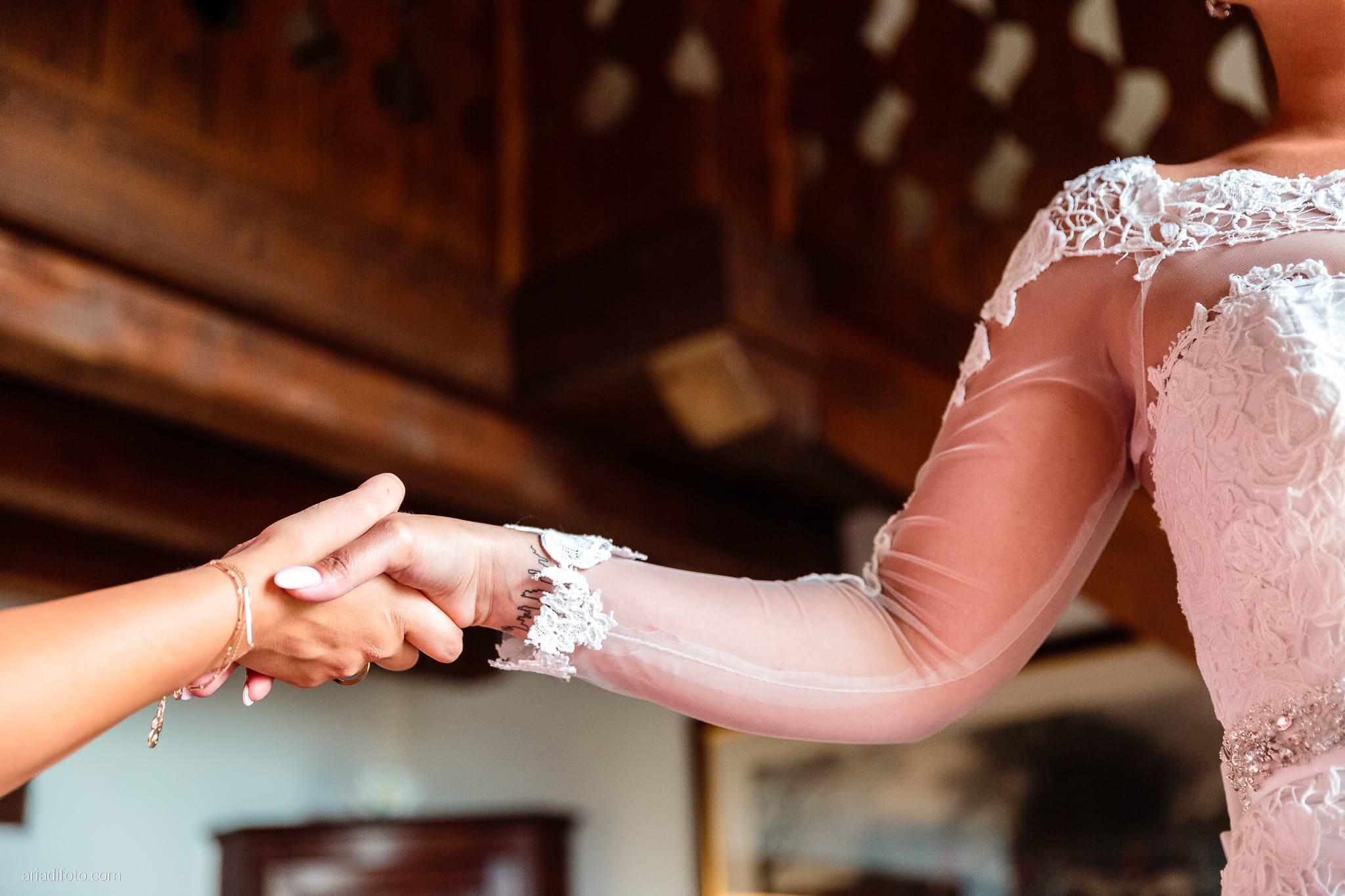 Sofia Mario Matrimonio Baronesse Tacco Collio Gorizia preparativi mani
