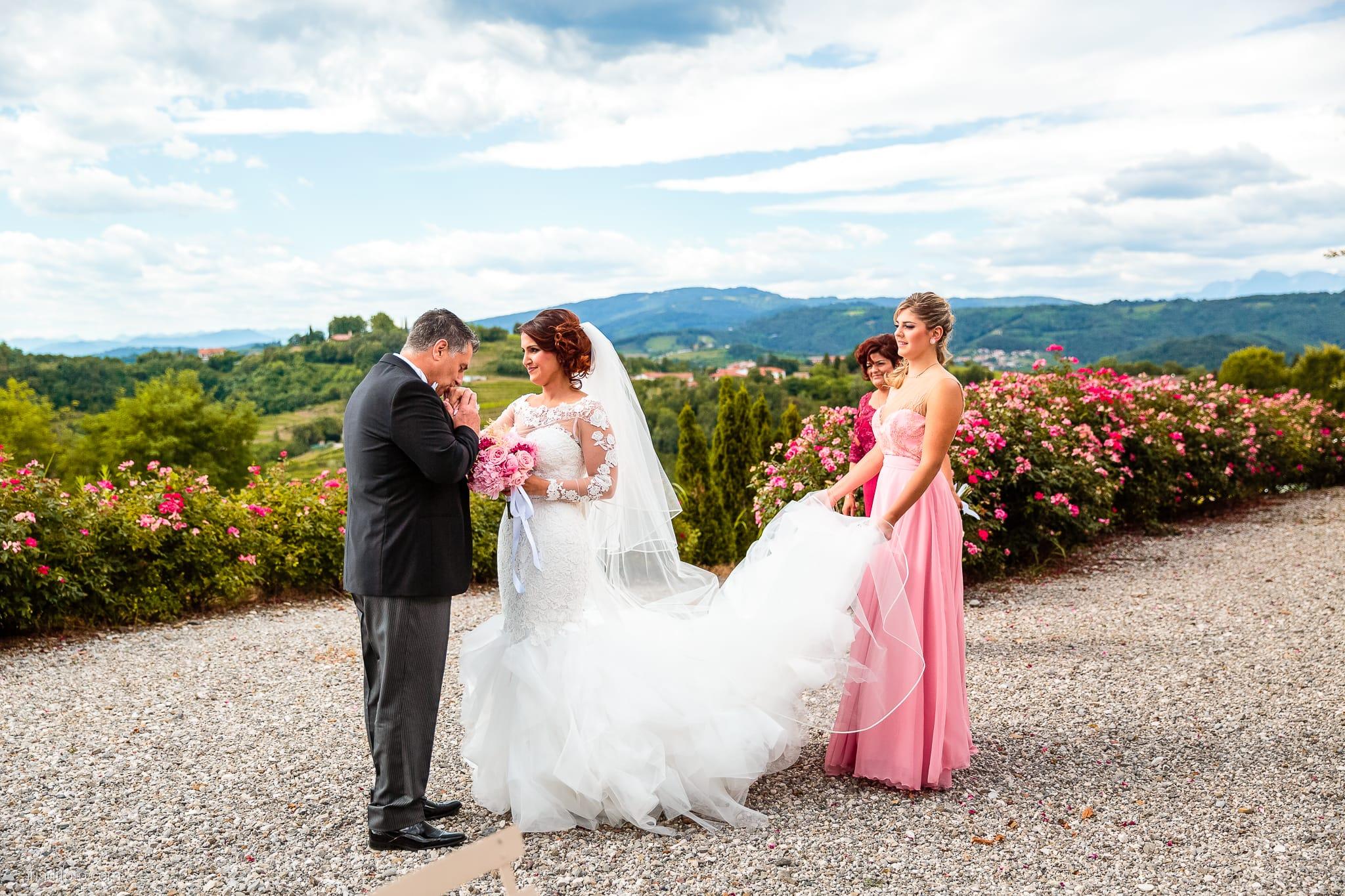Sofia Mario Matrimonio Baronesse Tacco Collio Gorizia preparativi papà