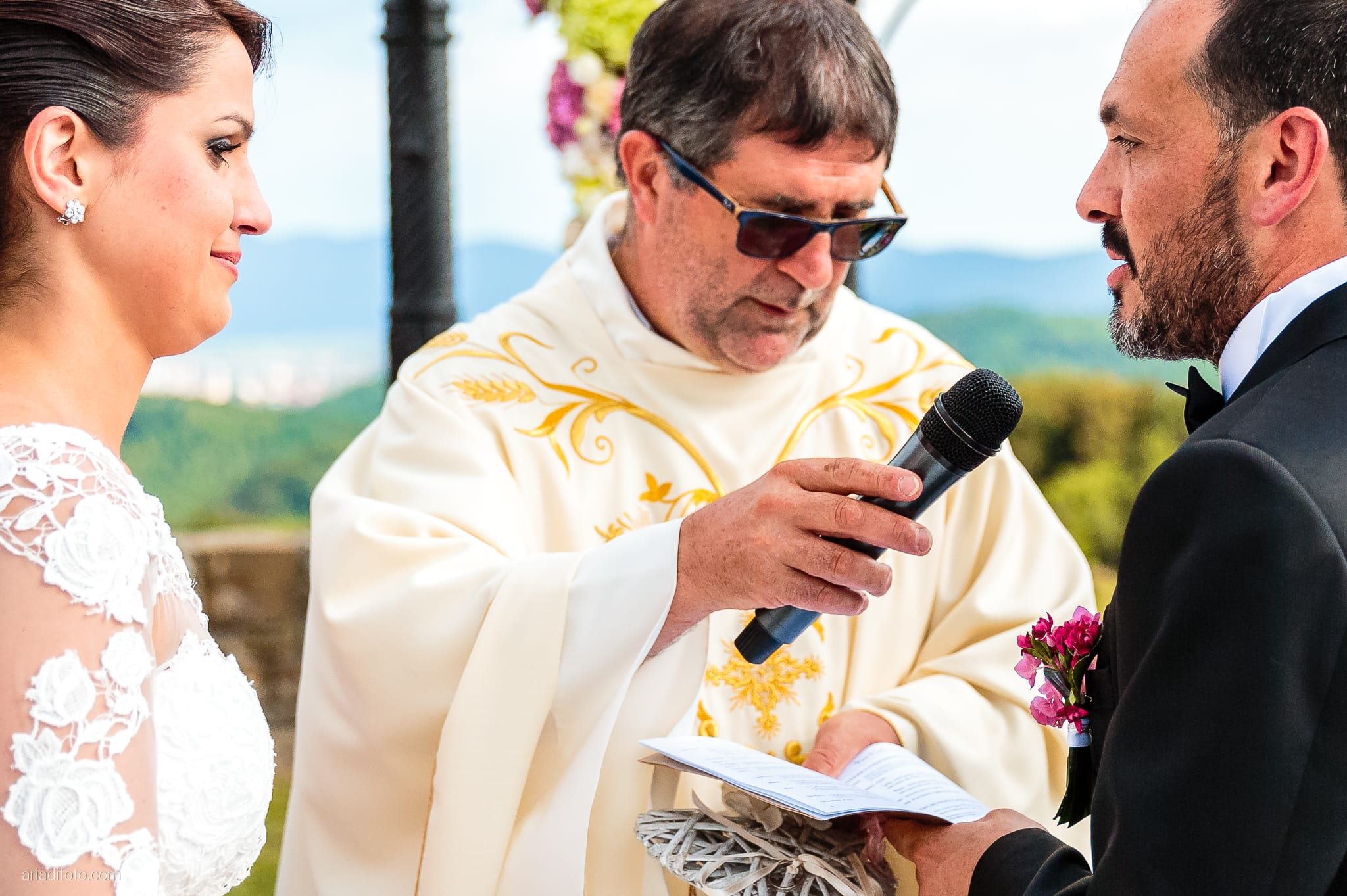 Sofia Mario Matrimonio Baronesse Tacco Collio Gorizia cerimonia promesse