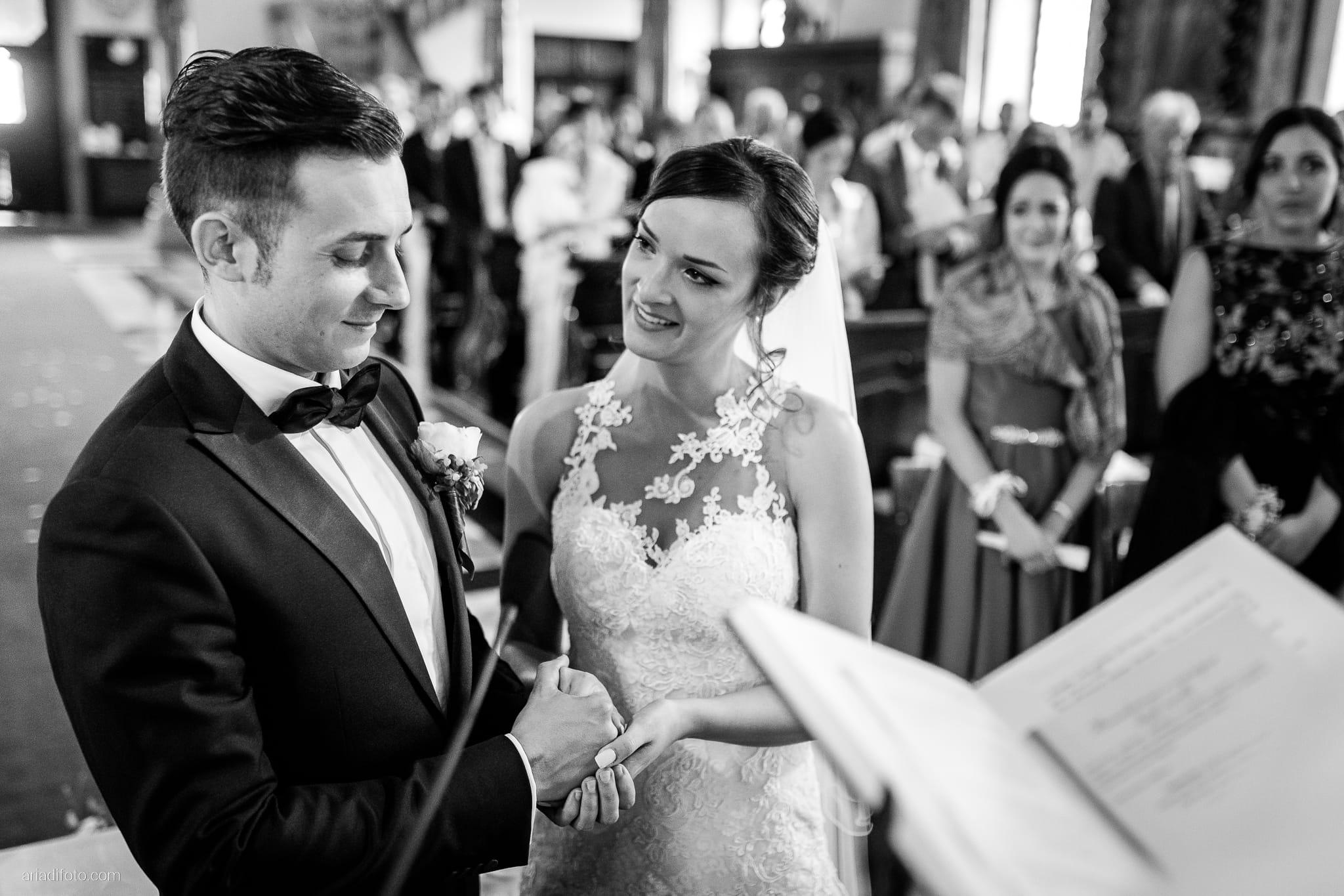 Valentina Marco Matrimonio Duomo Gorizia Castelvecchio Sagrado cerimonia cattolica promesse scambio degli anelli