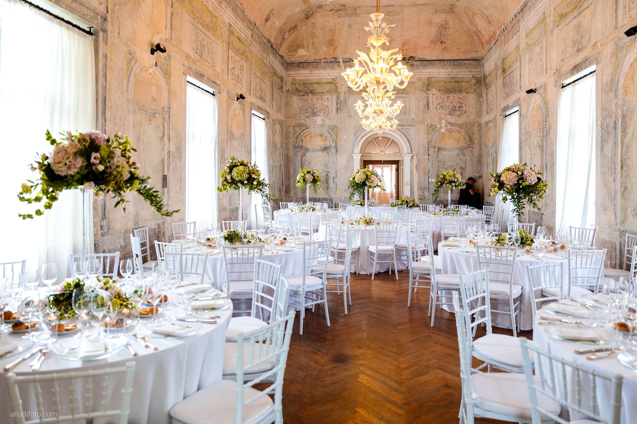 Valentina Marco Matrimonio Duomo Gorizia Castelvecchio Sagrado ricevimento dettagli decorazioni allestimenti sala centrotavola
