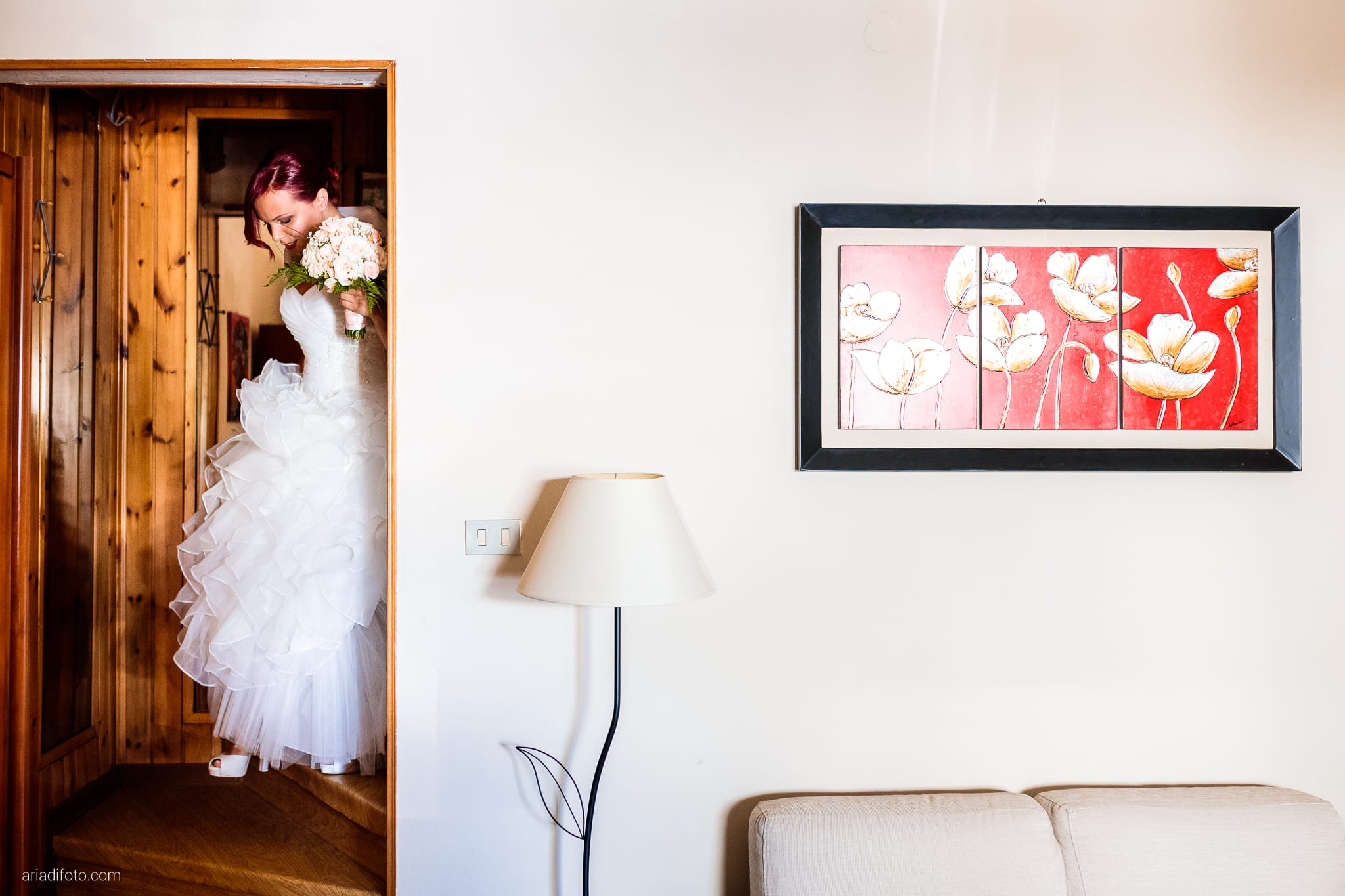 Alice Paolo Matrimonio San Giorgio Villa Iachia Ruda Udine preparativi sposa