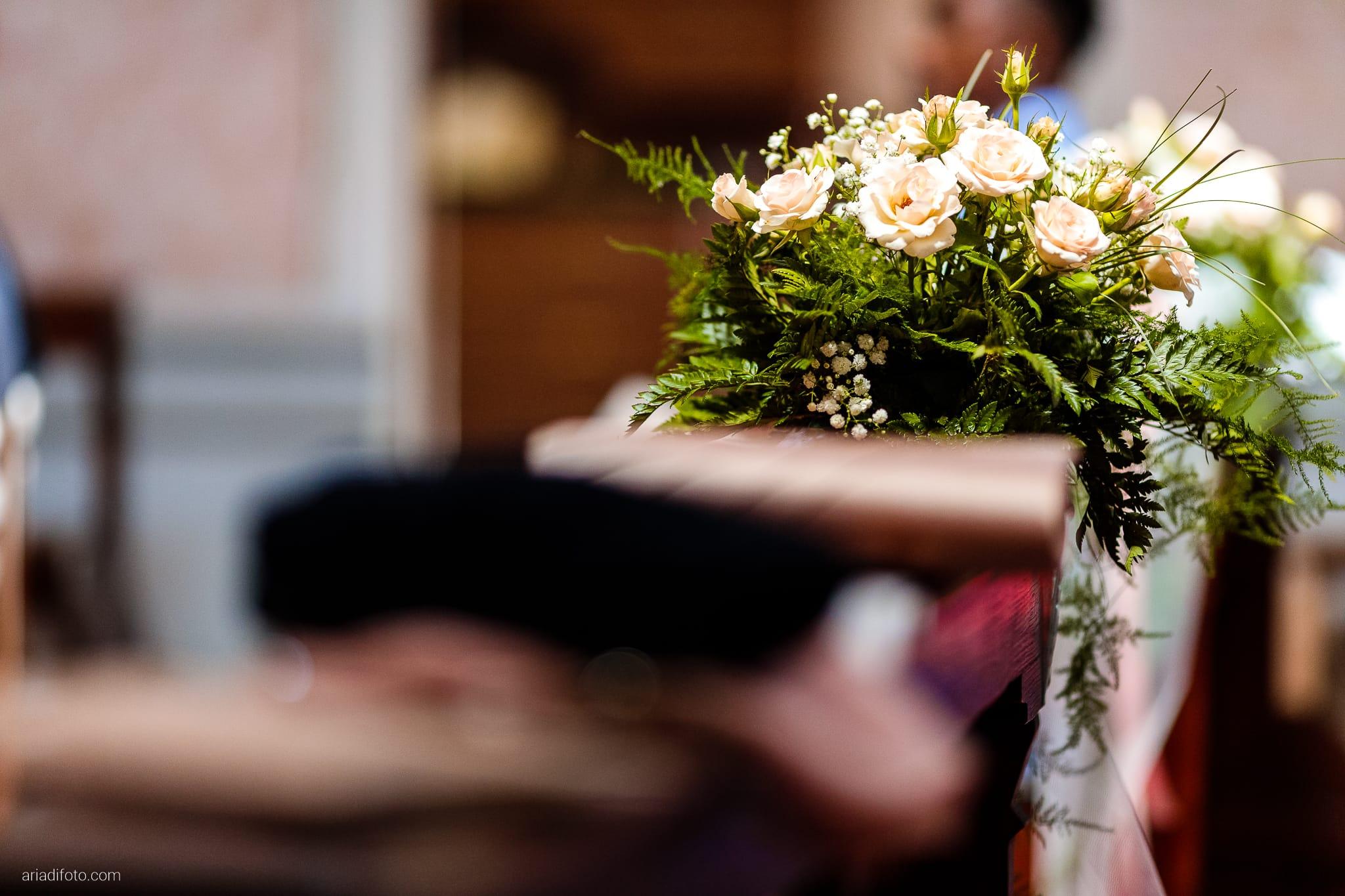 Alice Paolo Matrimonio Chiesa San Floriano Martire San Giorgio Villa Iachia Ruda Udine dettagli fiori