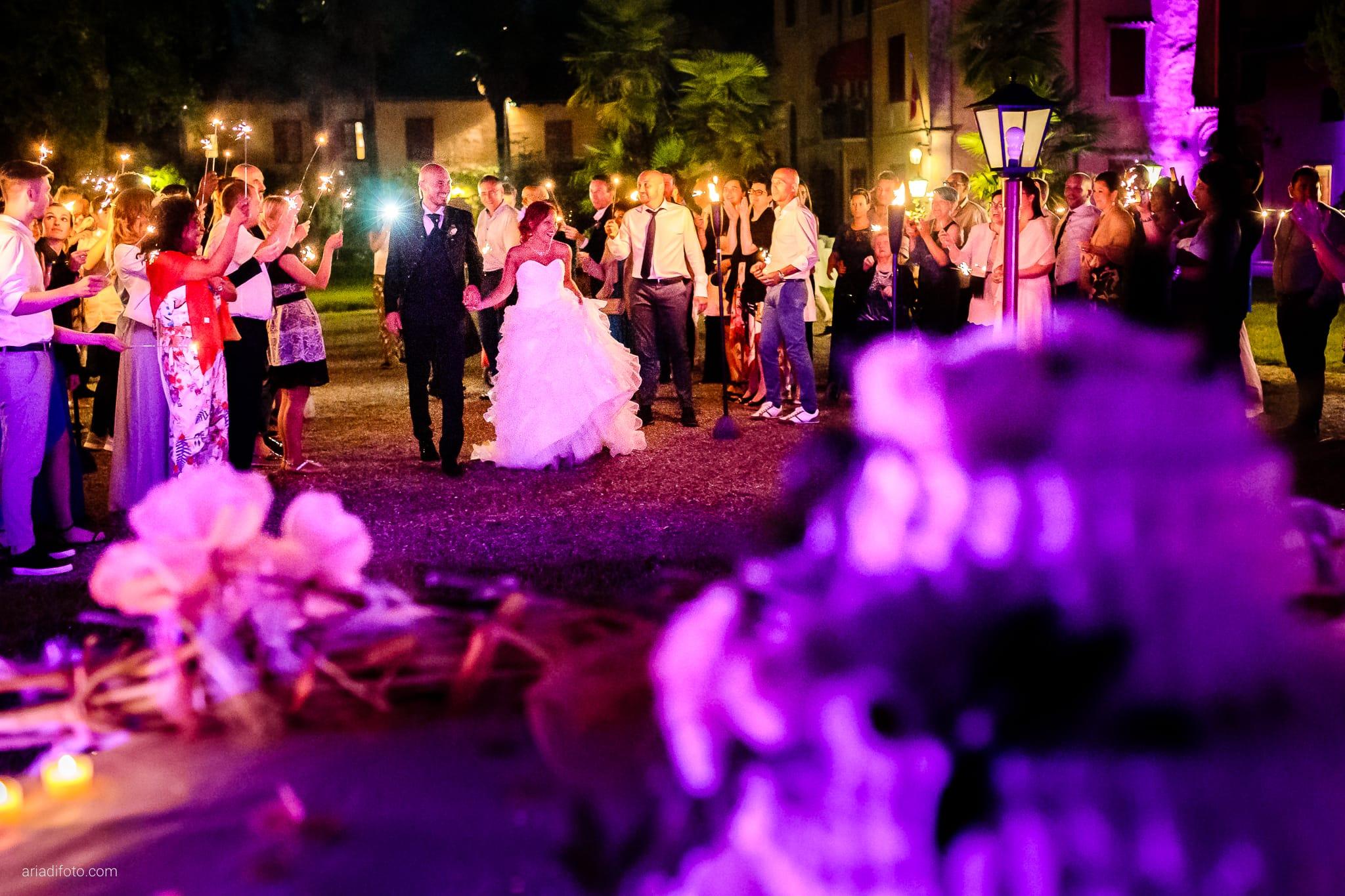 Alice Paolo Matrimonio San Giorgio Villa Iachia Ruda Udine ricevimento torta notte