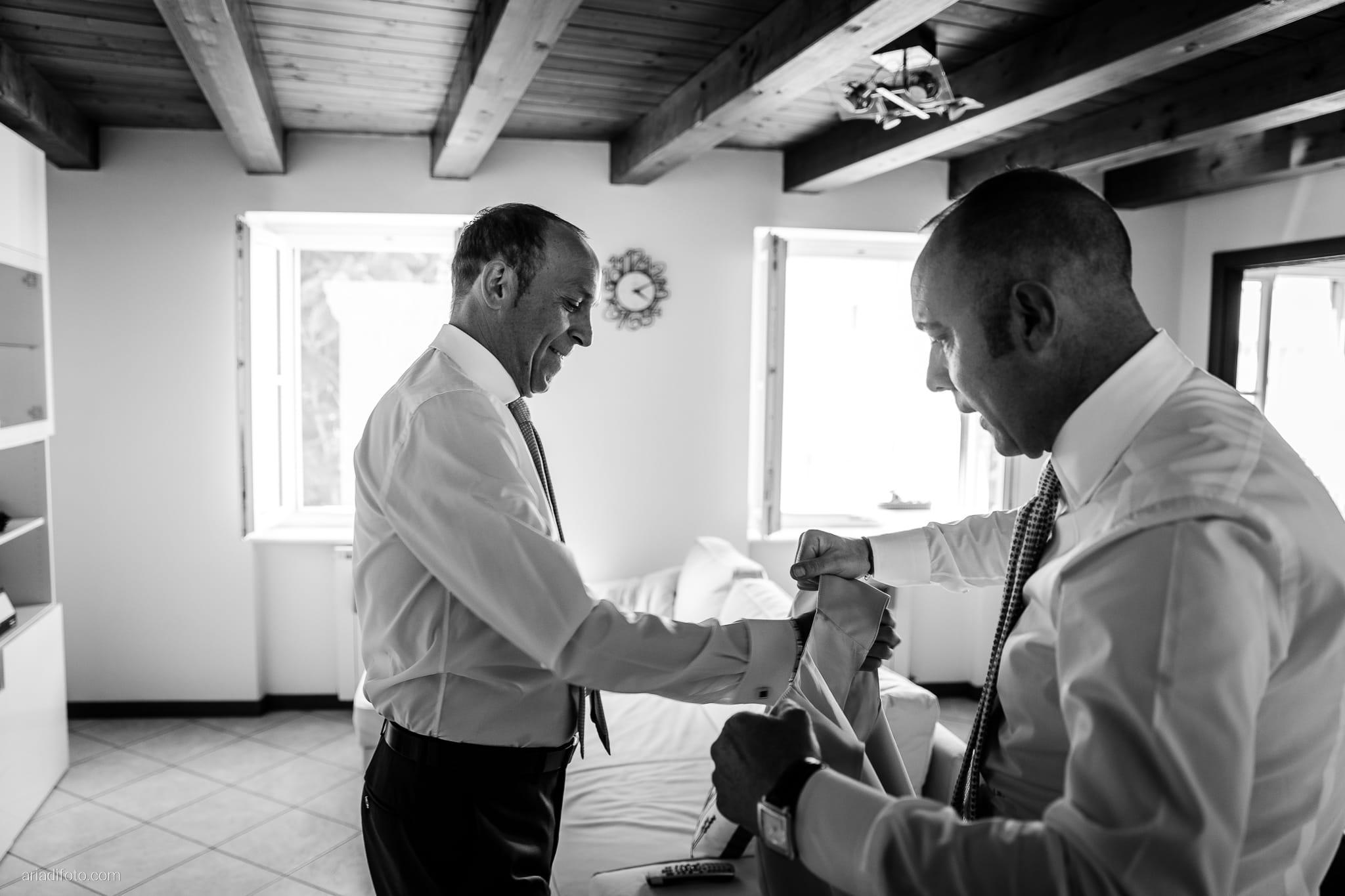 Anna Paolo Matrimonio Santa Maria Maggiore Hotel Riviera Trieste preparazione sposo