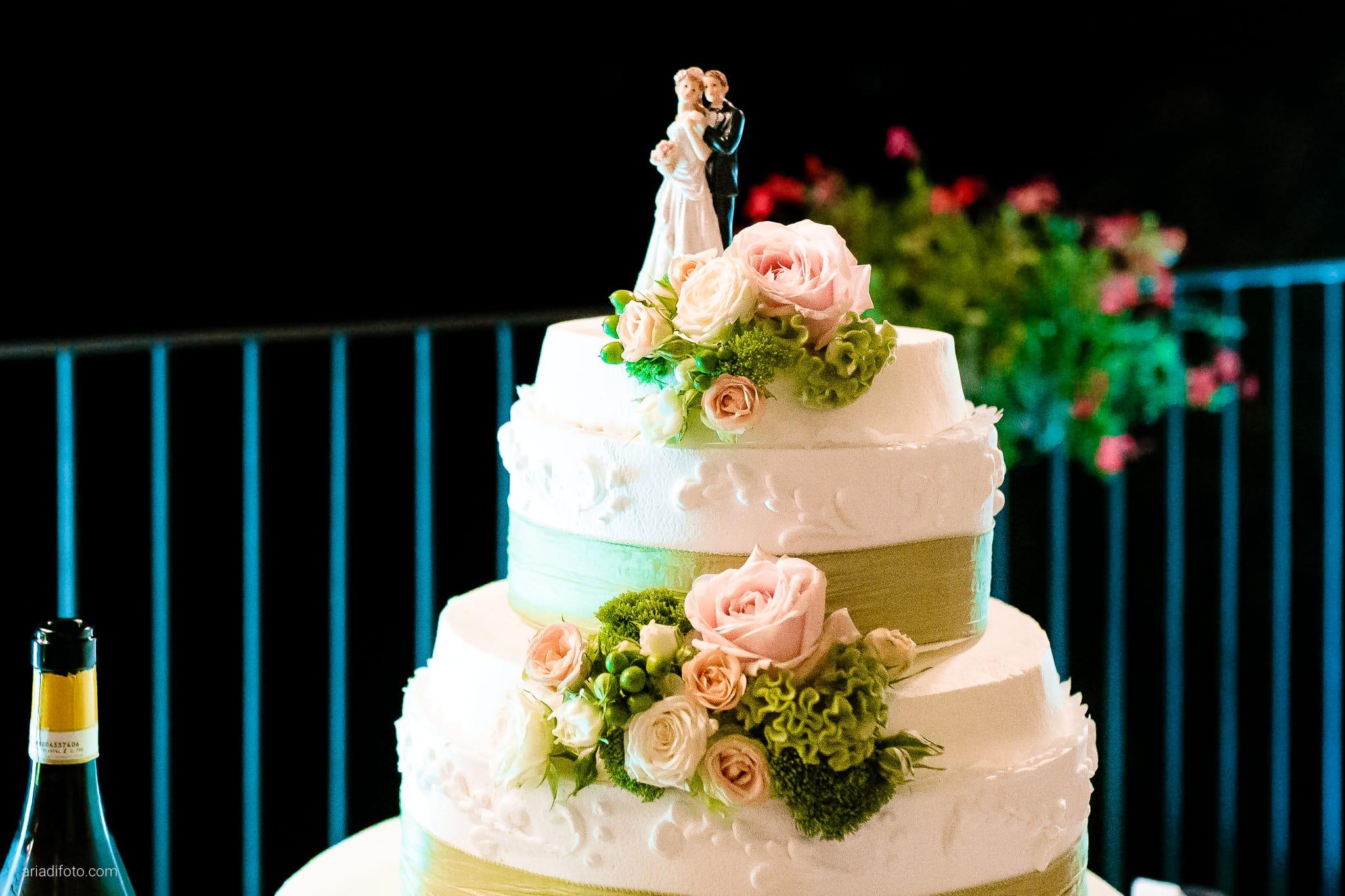 Anna Paolo Matrimonio Santa Maria Maggiore Hotel Riviera Trieste torta