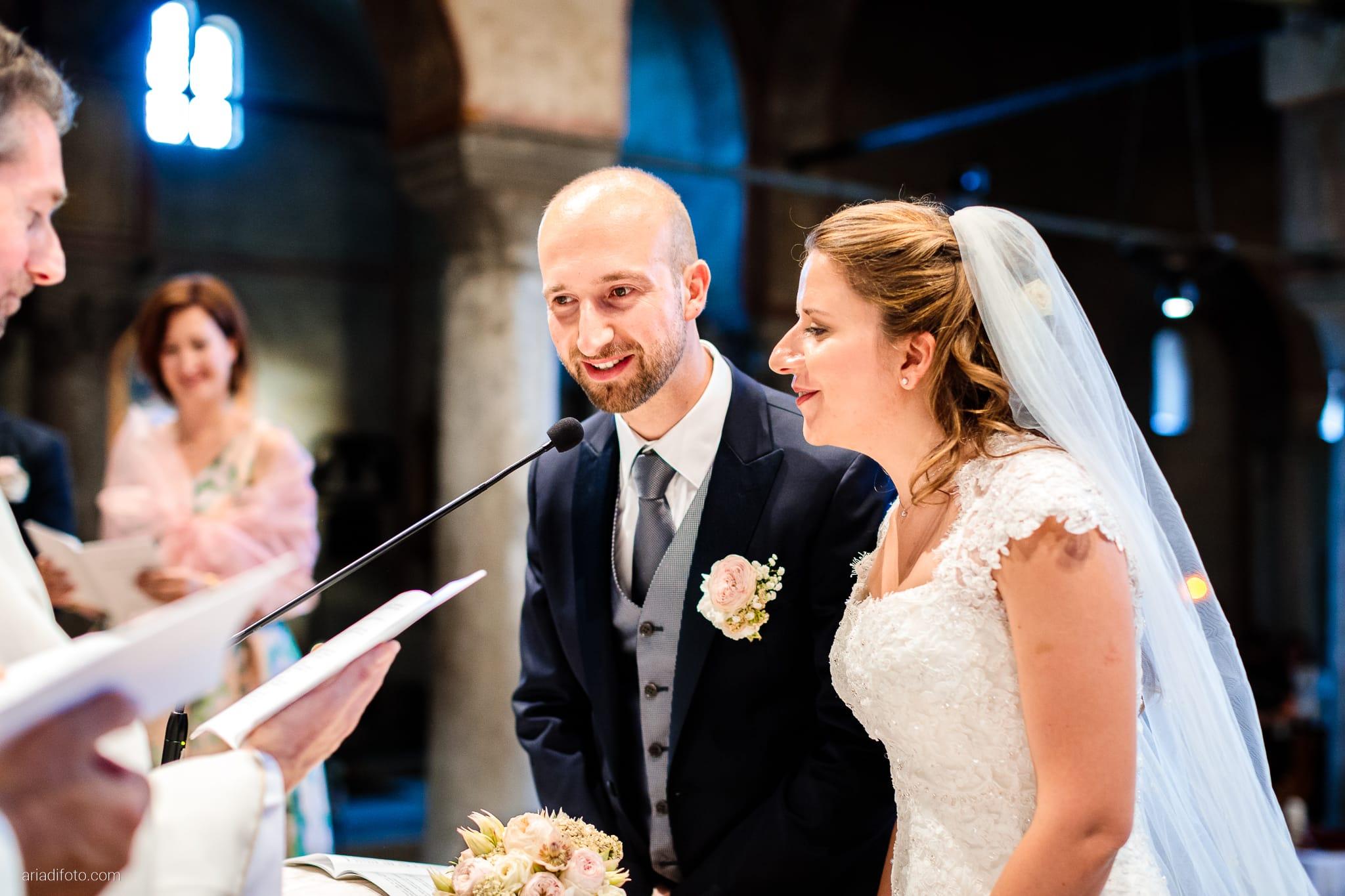 Ester Francesco Matrimonio Cattedrale Castello San Giusto Molo IV Trieste cerimonia promesse