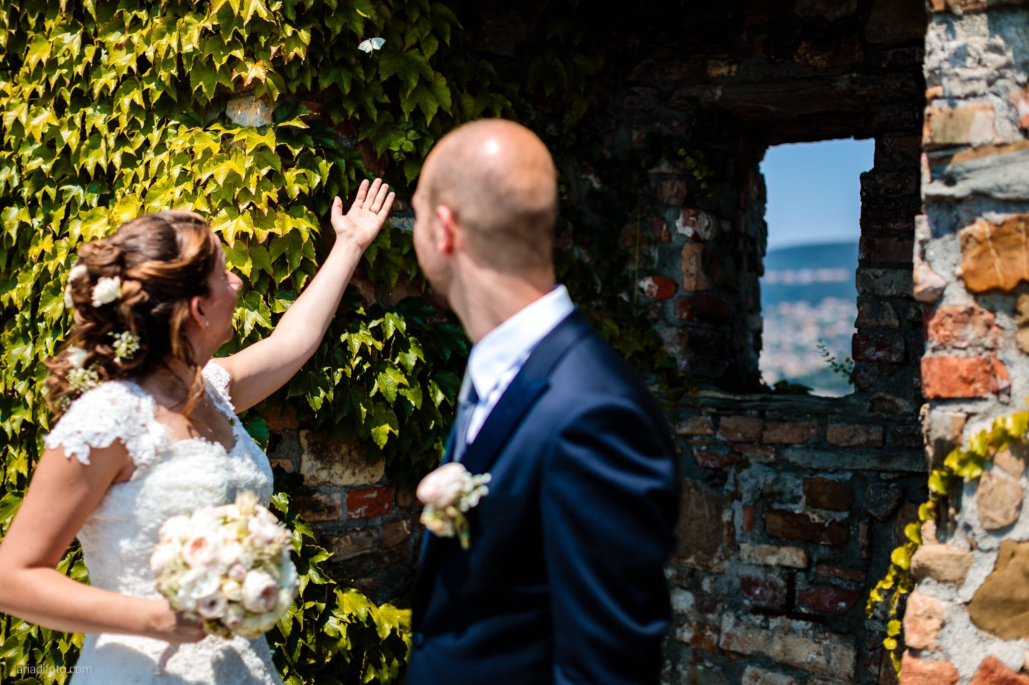 Ester Francesco Matrimonio Cattedrale Castello San Giusto Molo IV Trieste ritratti sposi