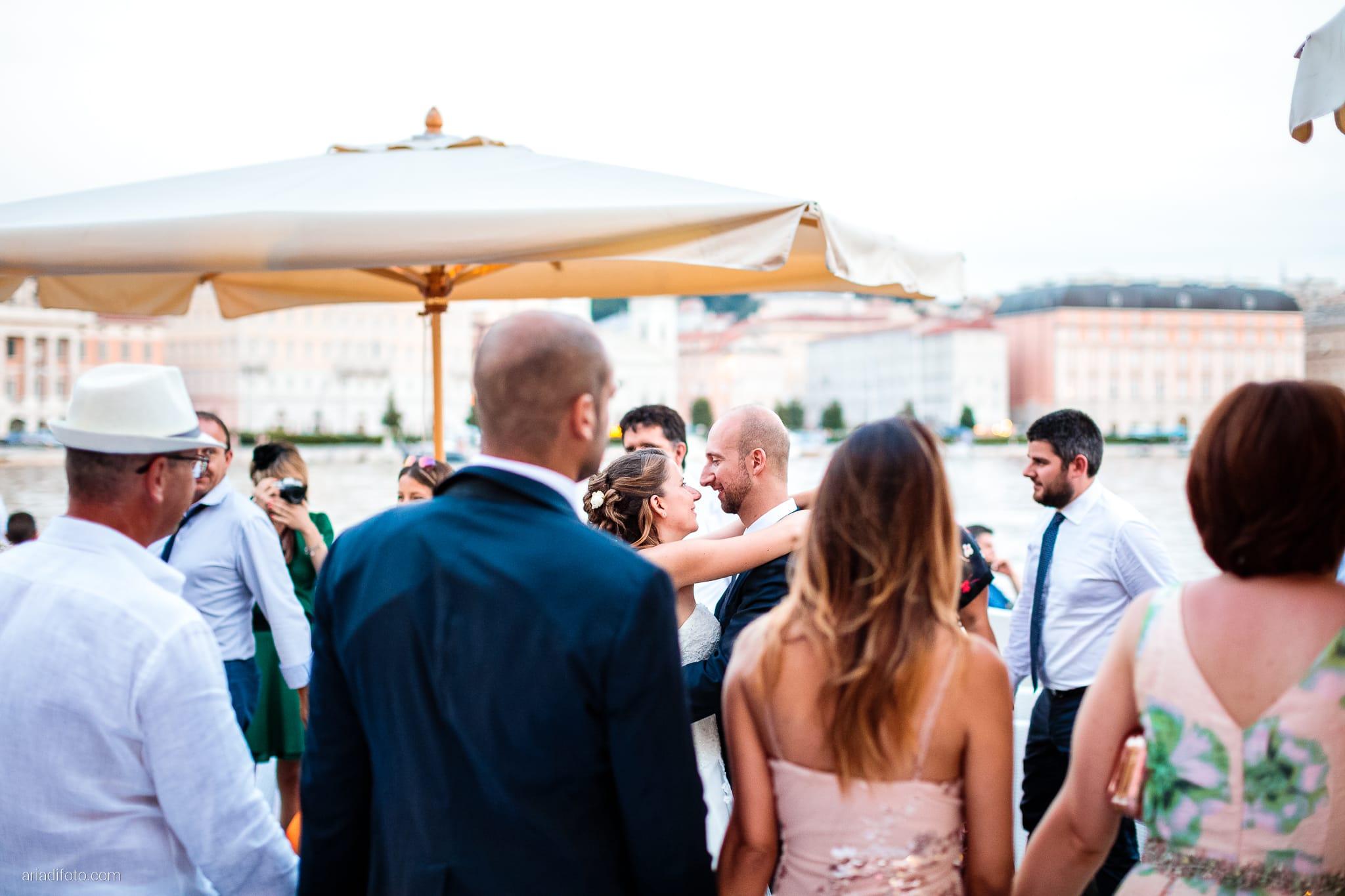 Ester Francesco Matrimonio Cattedrale Castello San Giusto Molo IV Trieste ricevimento primo ballo