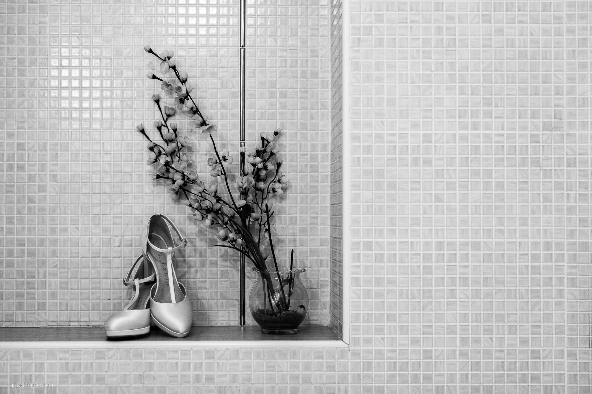Rosylenia Luca Matrimonio Duino Ristorante Napoleone Castions Udine preparativi sposa dettagli scarpe