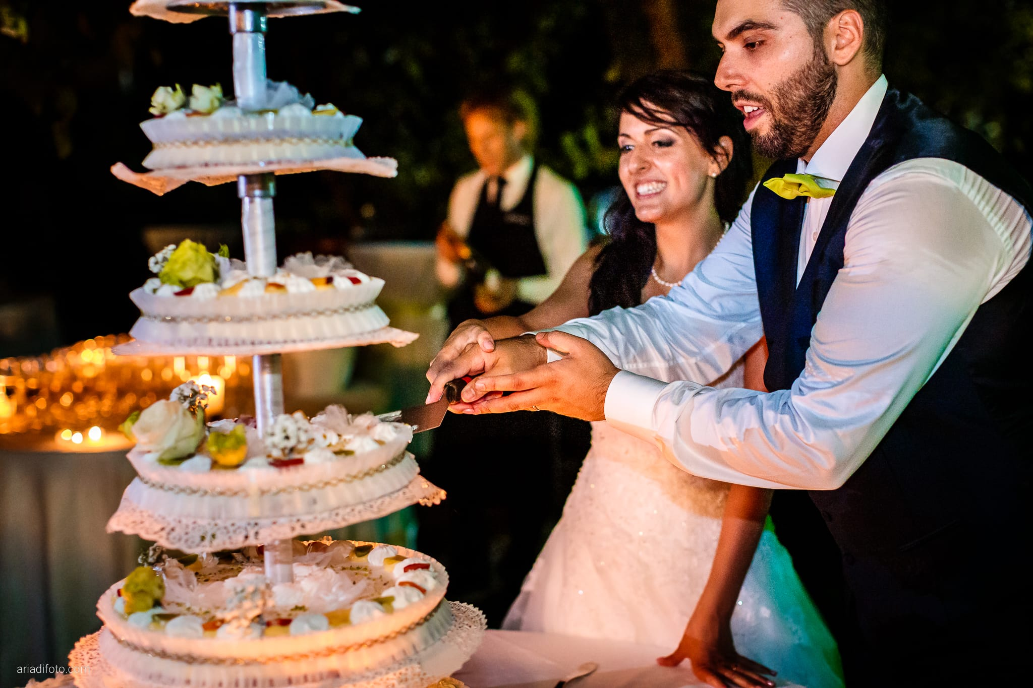 Rosylenia Luca Matrimonio Duino Ristorante Napoleone Castions Udine ricevimento torta