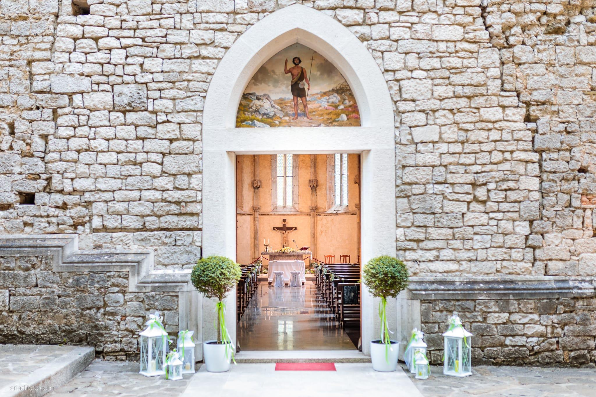 Rosylenia Luca Matrimonio Duino Chiesa San Giovanni in Tuba Ristorante Napoleone Castions Udine cerimonia dettagli