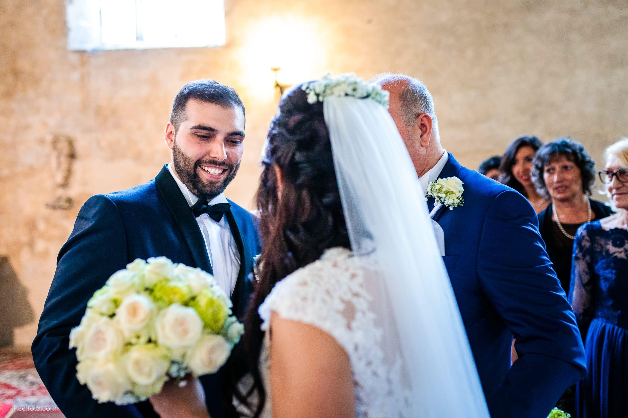 Rosylenia Luca Matrimonio Duino Chiesa San Giovanni in Tuba Ristorante Napoleone Castions Udine cerimonia ingresso sposa
