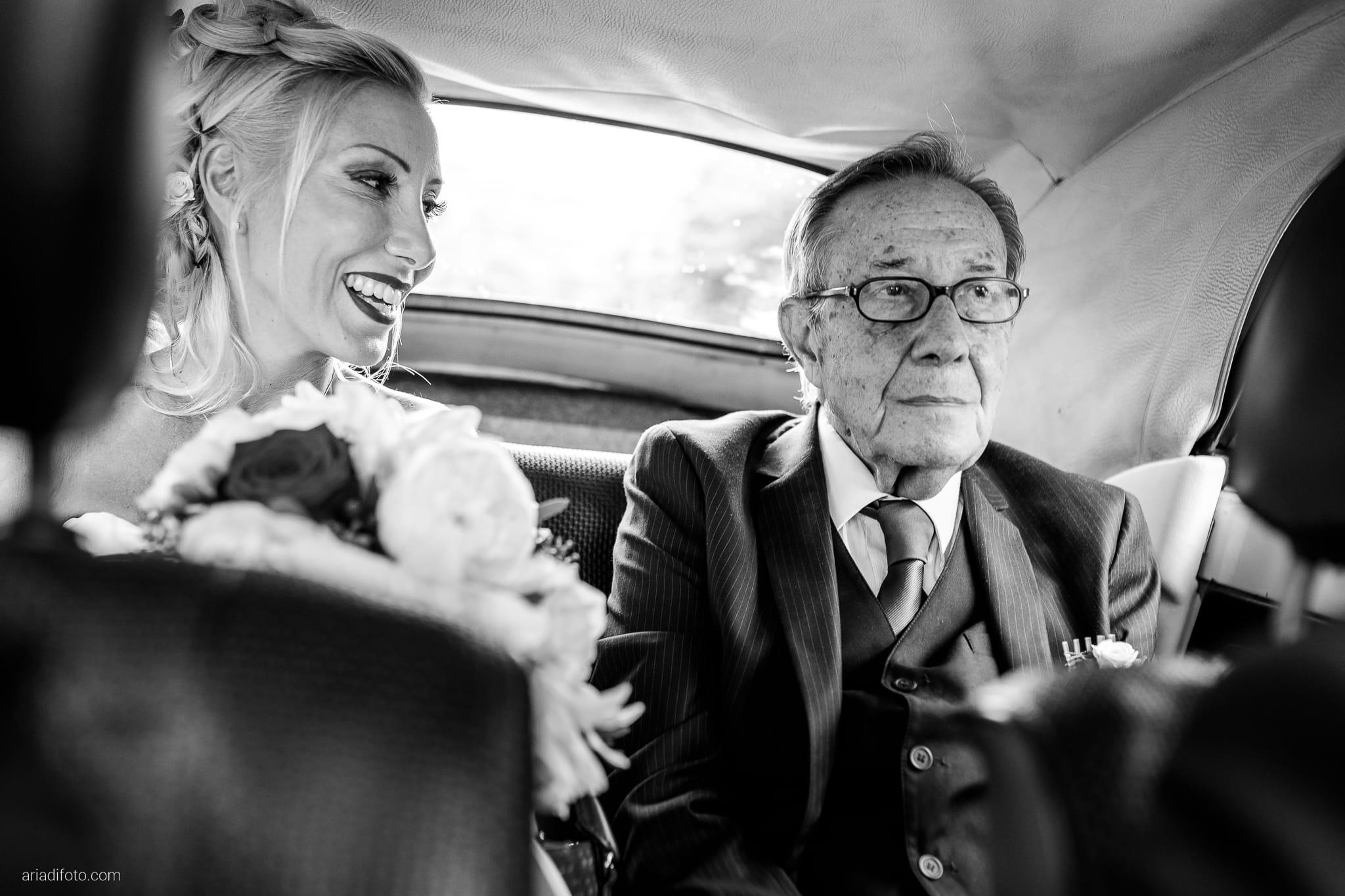 Francesca Davide Matrimonio Destination Wedding Castello Zemono Valle Vipacco Slovenia preparativi auto