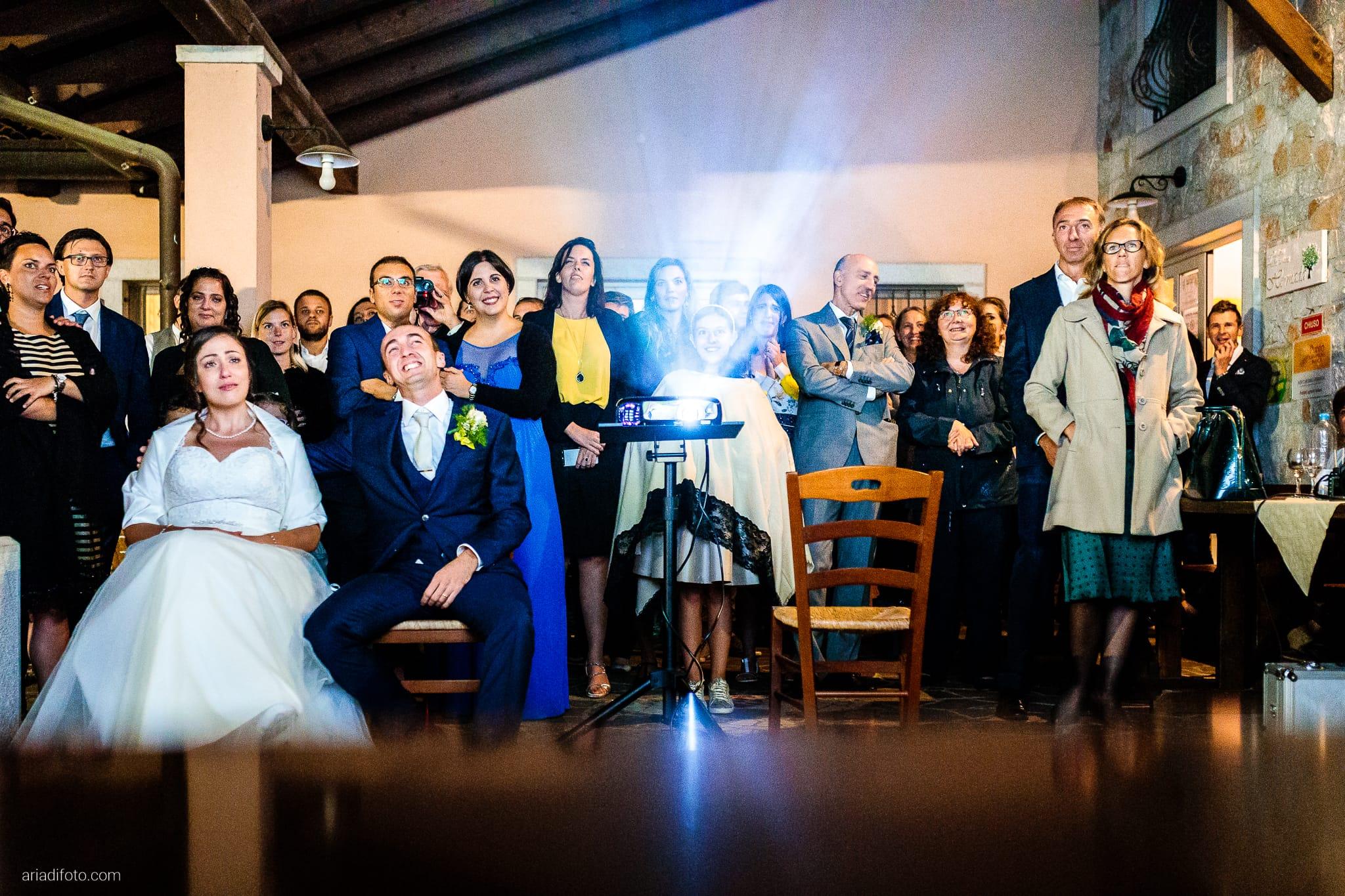 Maria Emanuela Fabio Matrimonio Muggia Porto Vecchio Agriturismo Hermada Duino Trieste ricevimento proiezione Live!
