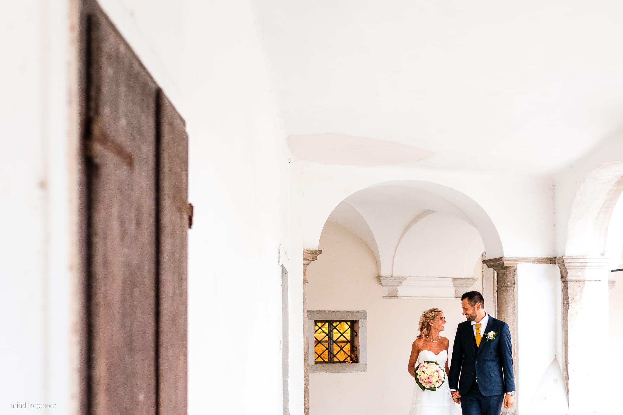 Nicoletta Pierfrancesco Matrimonio Gorizia Villa Attems Lucinico ritratti sposi Piazza Sant'Antonio