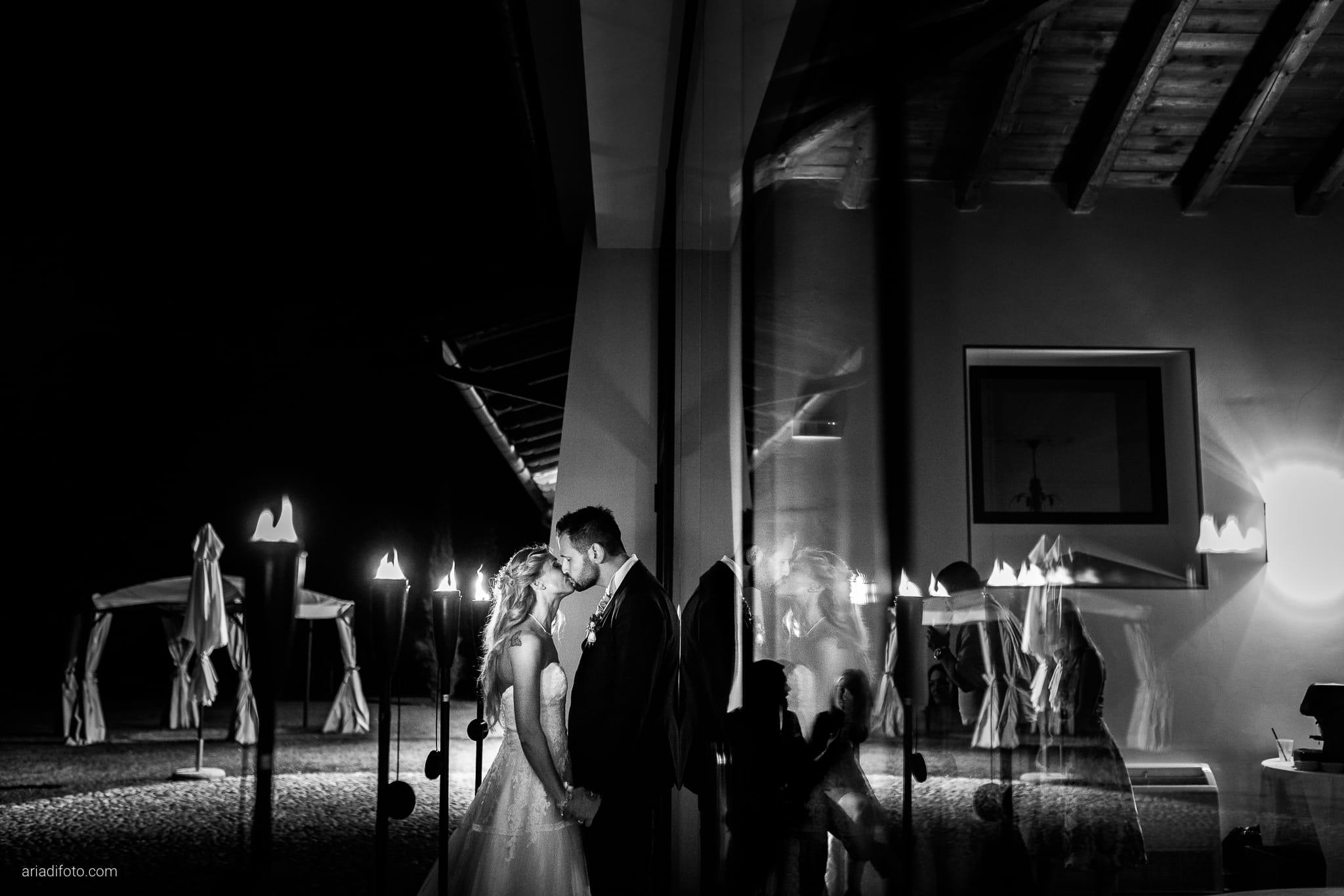 Nicoletta Pierfrancesco Matrimonio Gorizia Villa Attems Lucinico ritratti sposi notturni