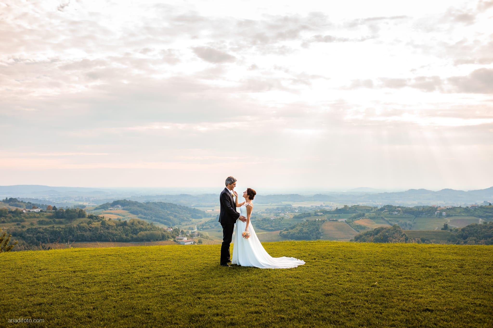 Tatiana Marco Matrimonio Trieste Baronesse Tacco San Floriano Collio Gorizia ritatti sposi