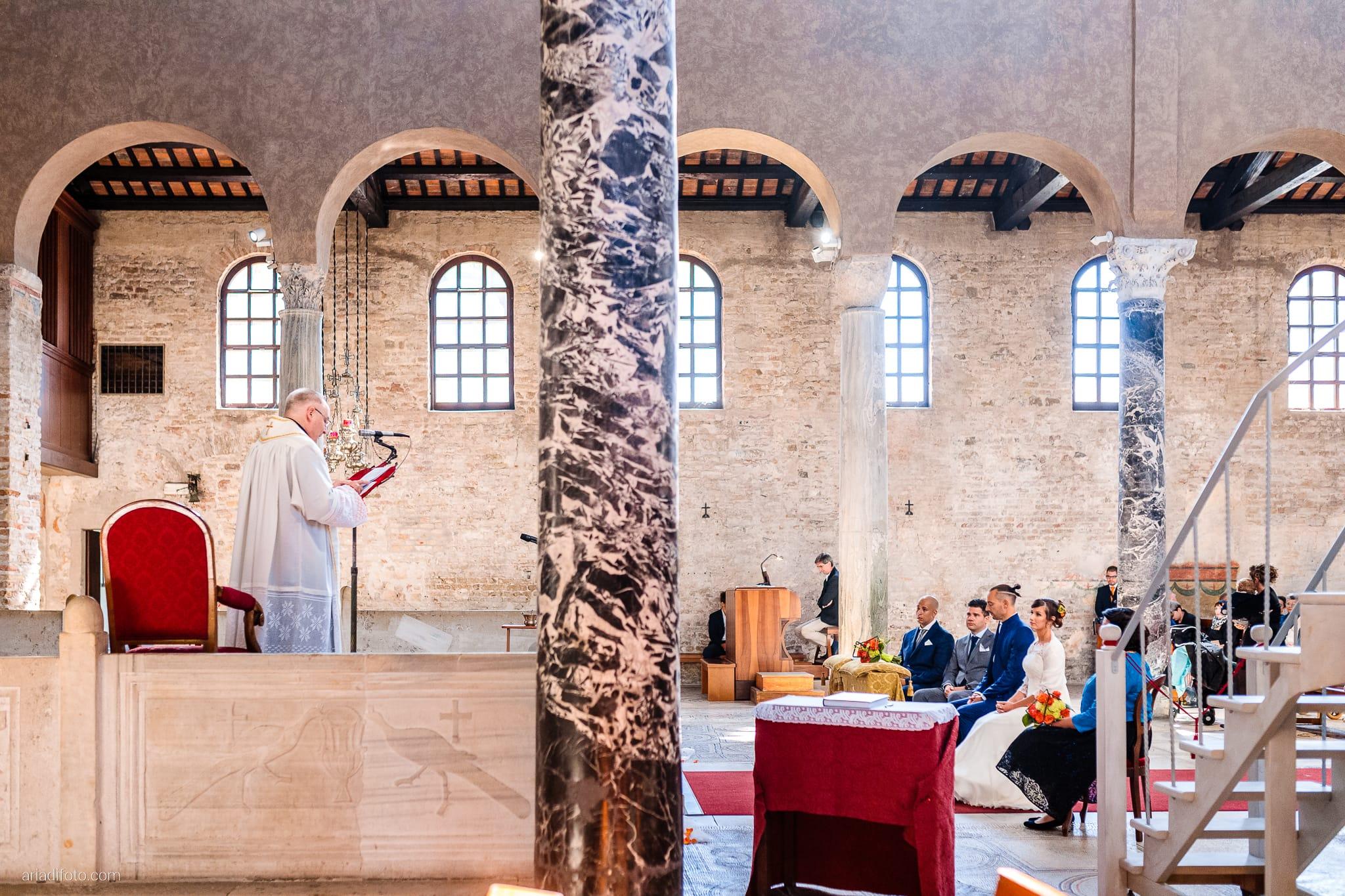 Teresa Andrea Matrimonio Grado Basilica Sant Eufemia Villa Iachia Ruda Udine cerimonia