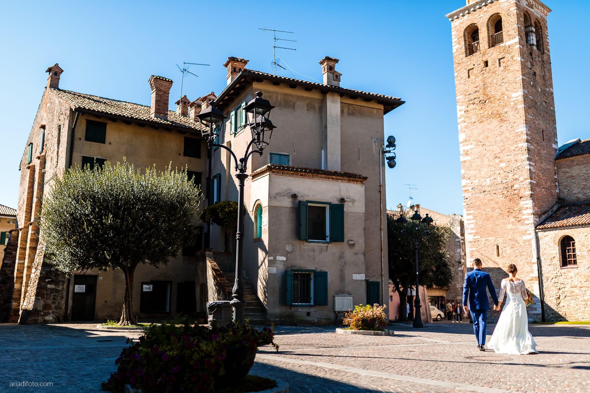 Teresa Andrea Matrimonio Grado Basilica Sant Eufemia Villa Iachia Ruda Udine ritratti sposi