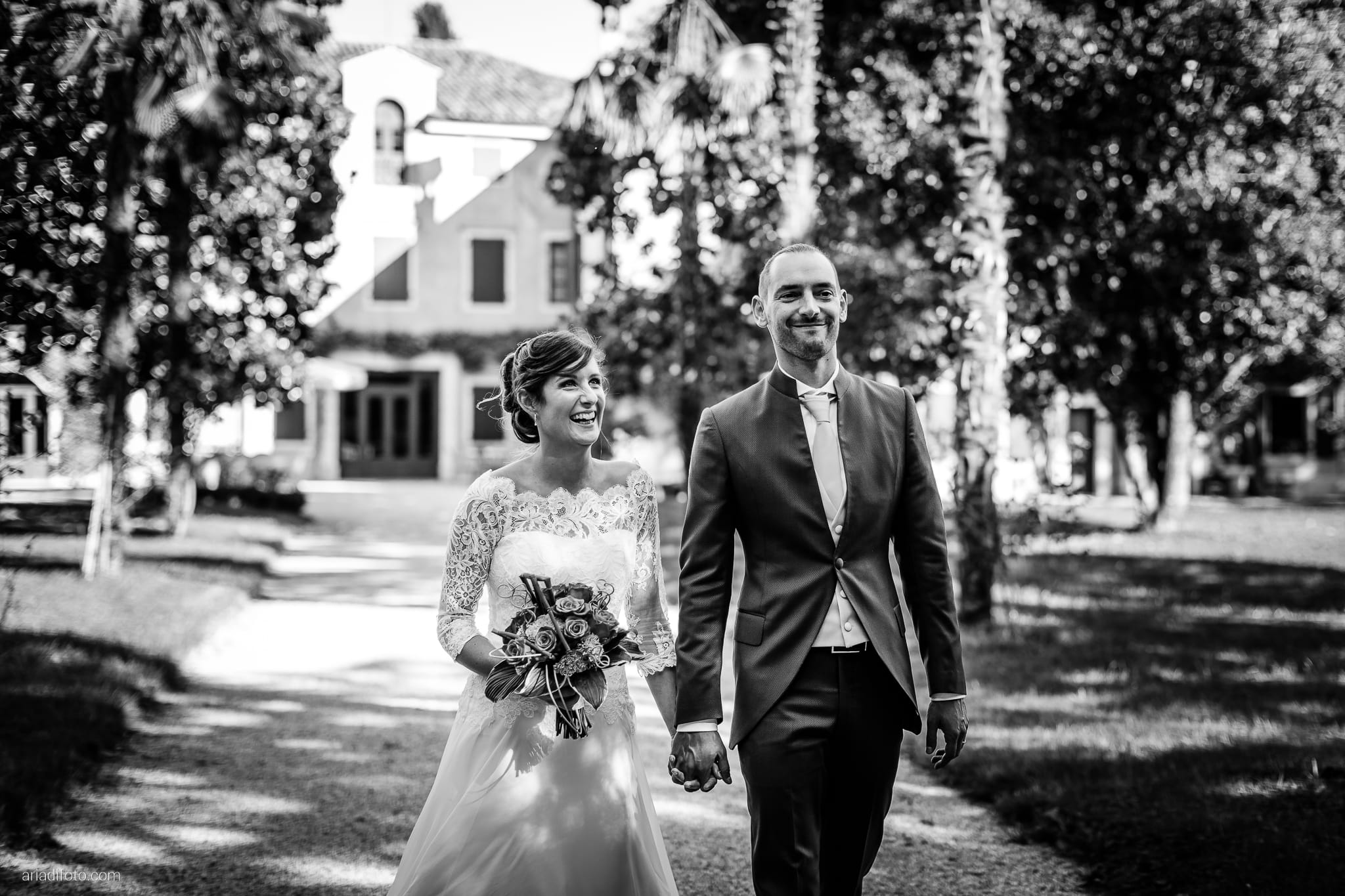 Teresa Andrea Matrimonio Grado Villa Iachia Ruda Udine ritratti sposi