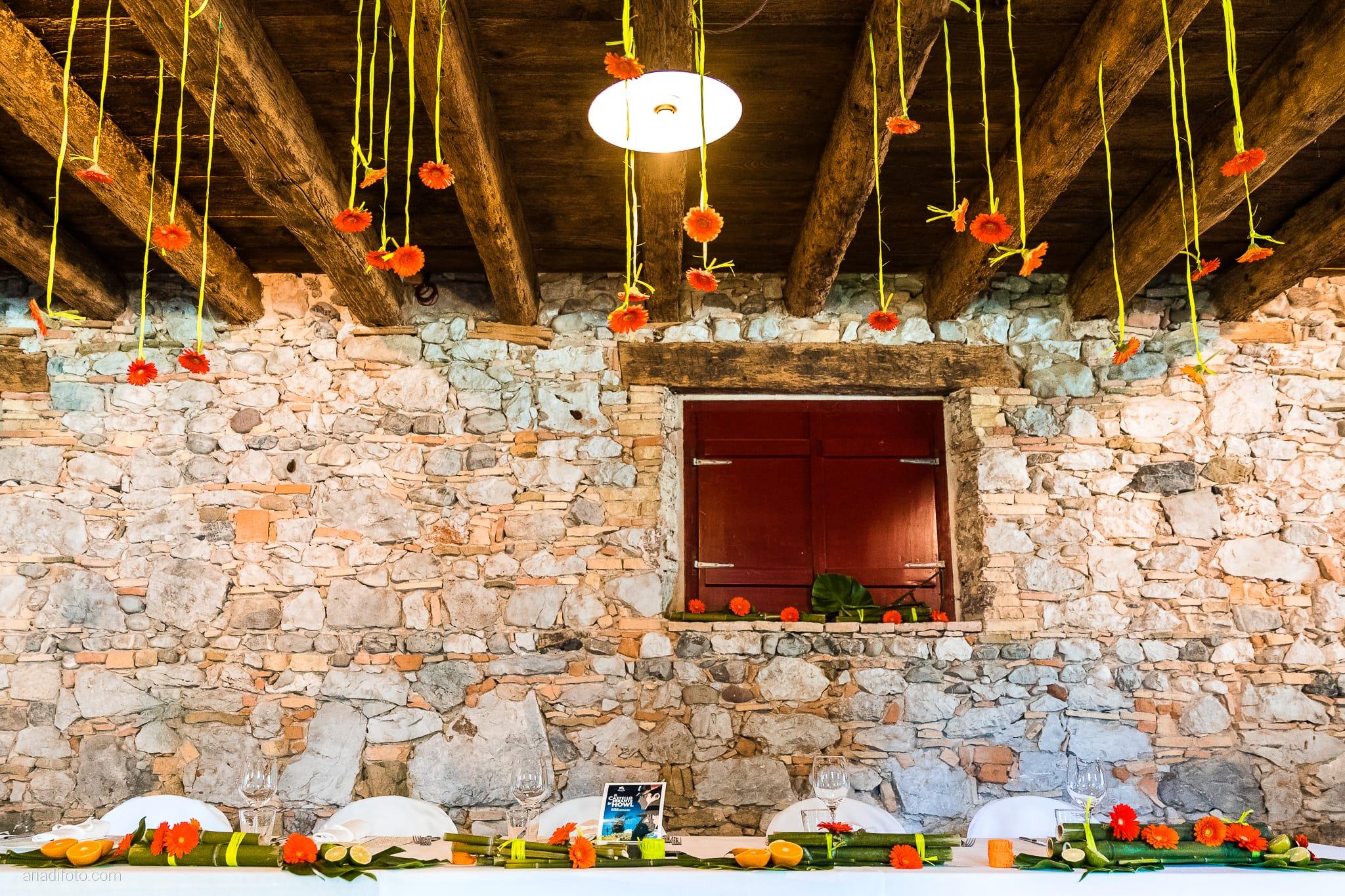 Teresa Andrea Matrimonio Grado Villa Iachia Ruda Udine ricevimento dettagli sala tavola decorazioni allestimenti