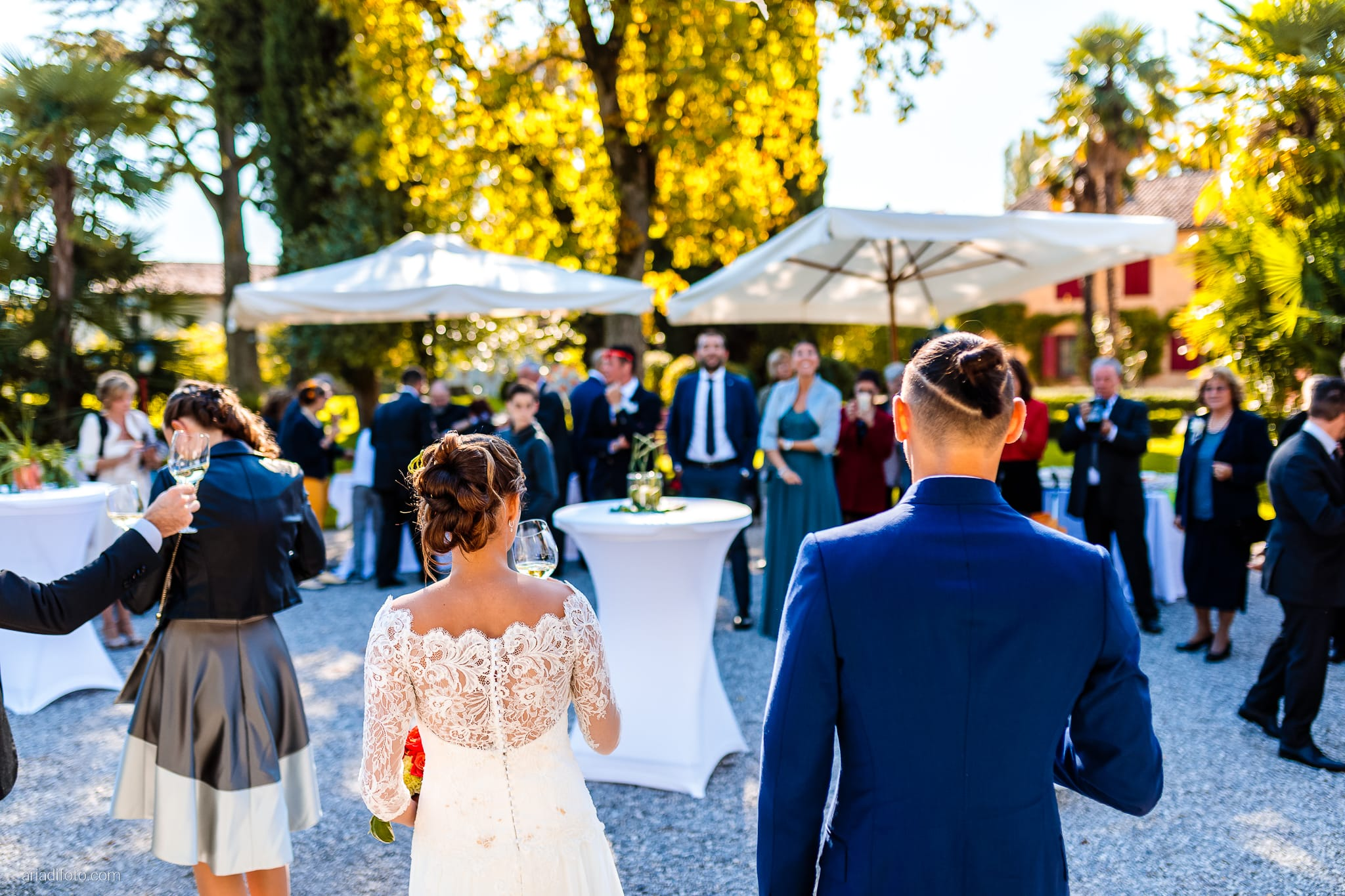 Teresa Andrea Matrimonio Grado Villa Iachia Ruda Udine ricevimento buffet
