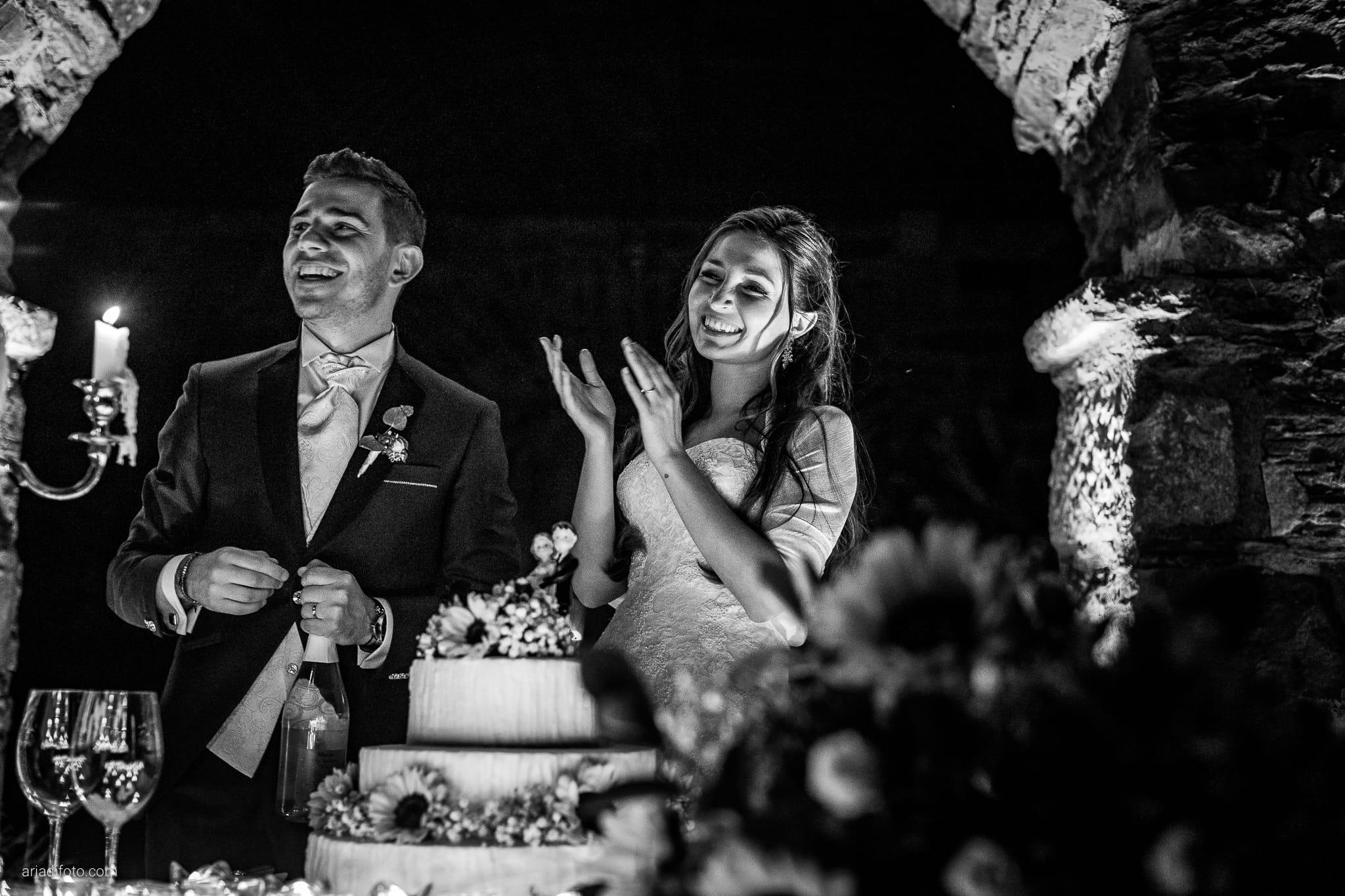 Giulia Alessandro Matrimonio Duino Trieste Baronesse Tacco San Floriano Del Collio Gorizia ricevimento taglio torta