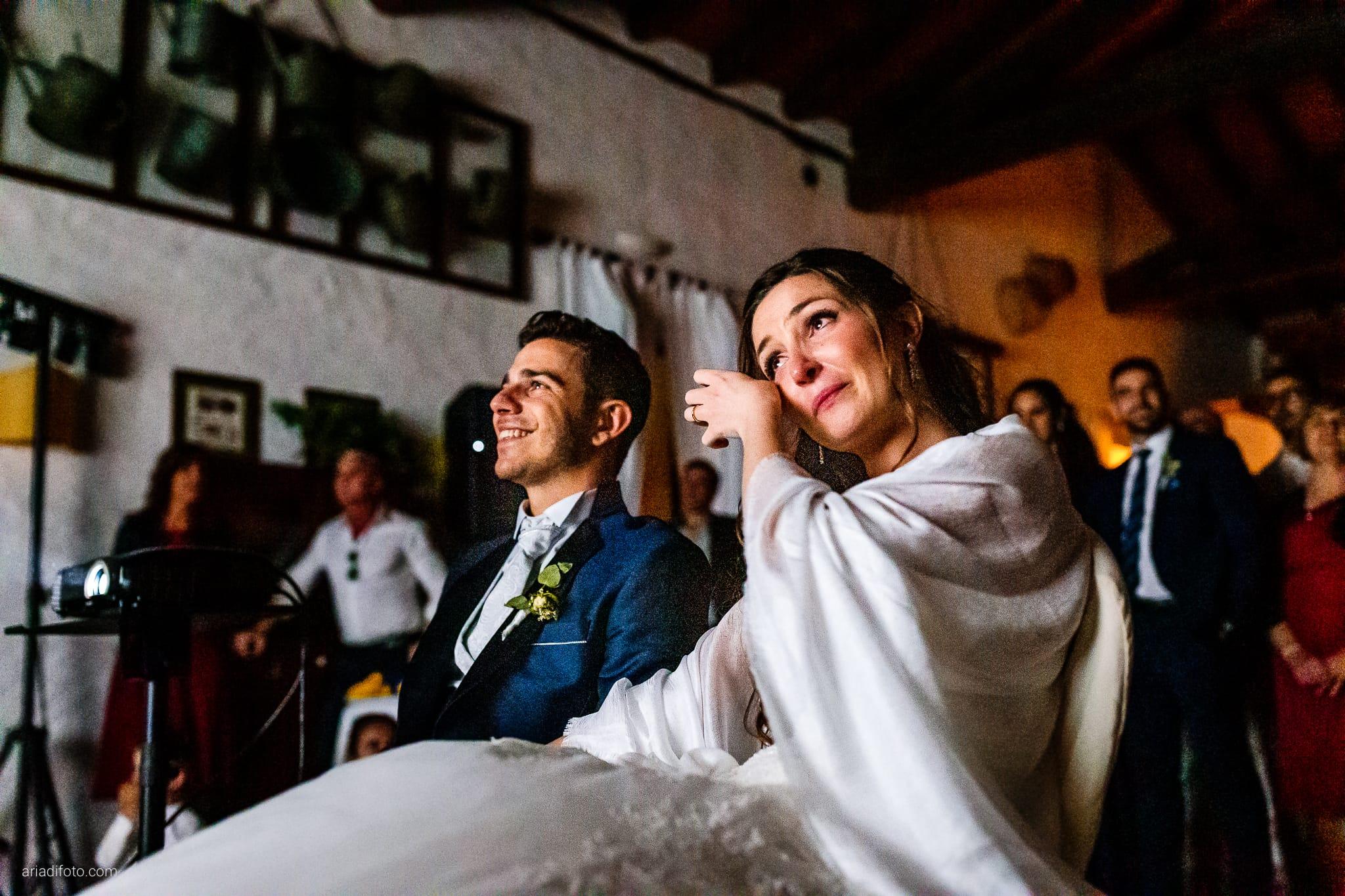 Giulia Alessandro Matrimonio Duino Trieste Baronesse Tacco San Floriano Del Collio Gorizia ricevimento proiezione amici Live