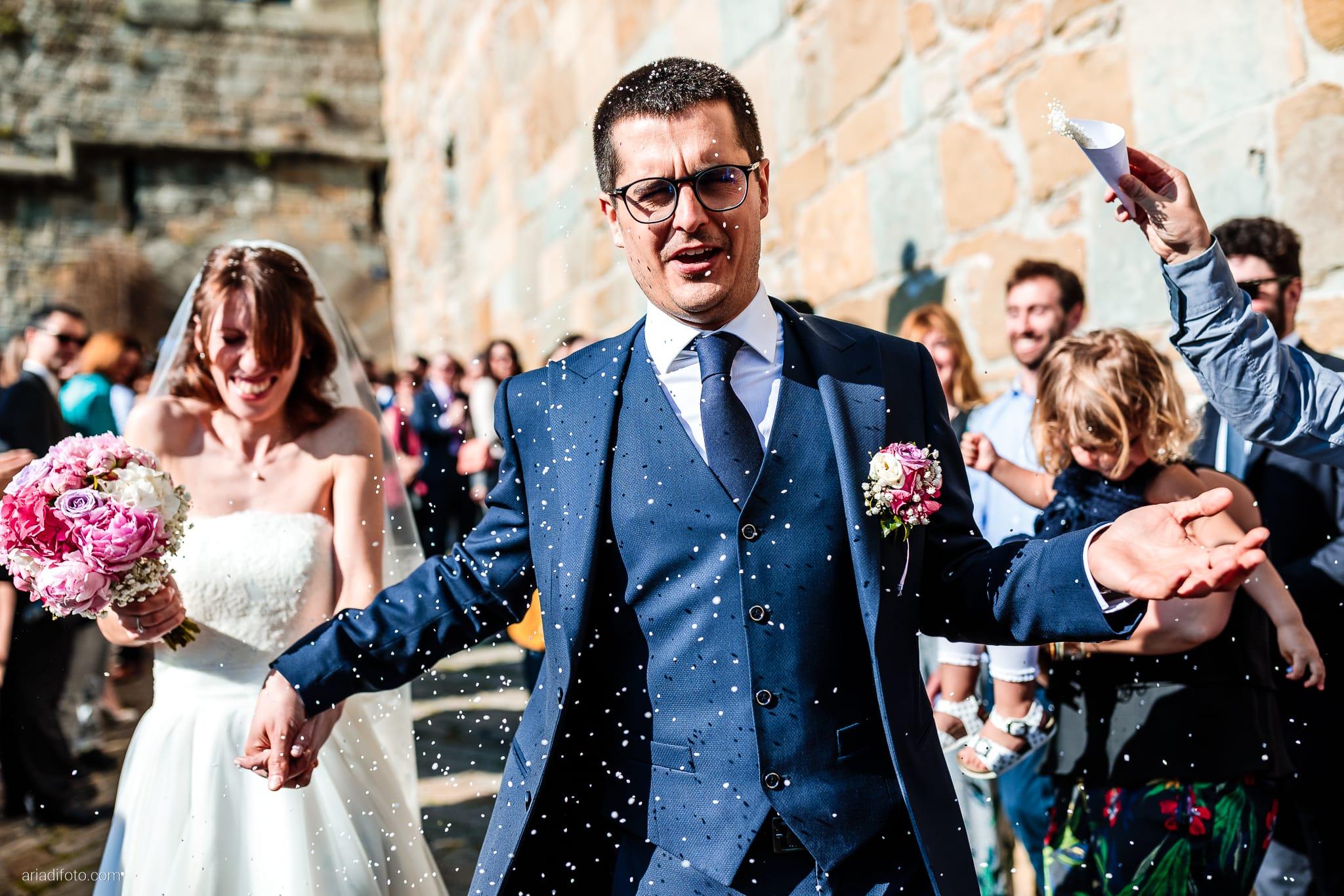 Marina Stefano Matrimonio Castello San Giusto Molo IV Trieste cerimonia civile lancio del riso