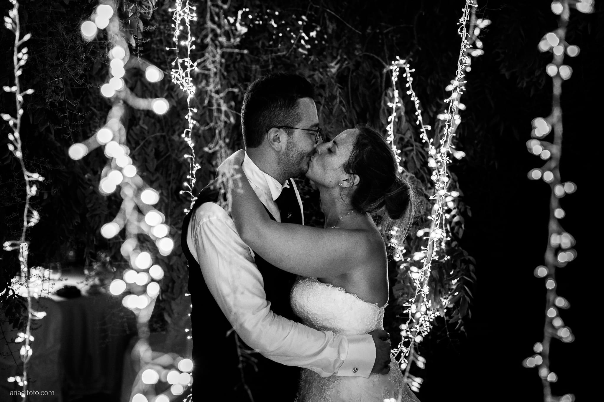Anna Matteo Matrimonio Parco di Buttrio Udine ritratti sposi notturni