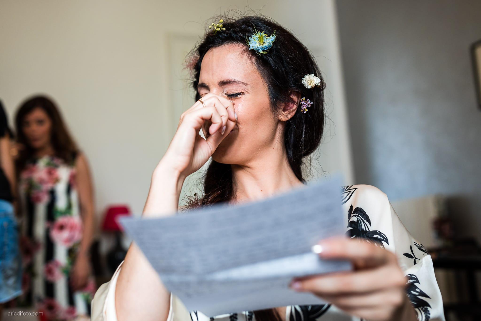 Giorgia Davide Matrimonio Muggia Trieste Baronesse Tacco San Floriano Del Collio Gorizia preparazioni sposa momenti lettera