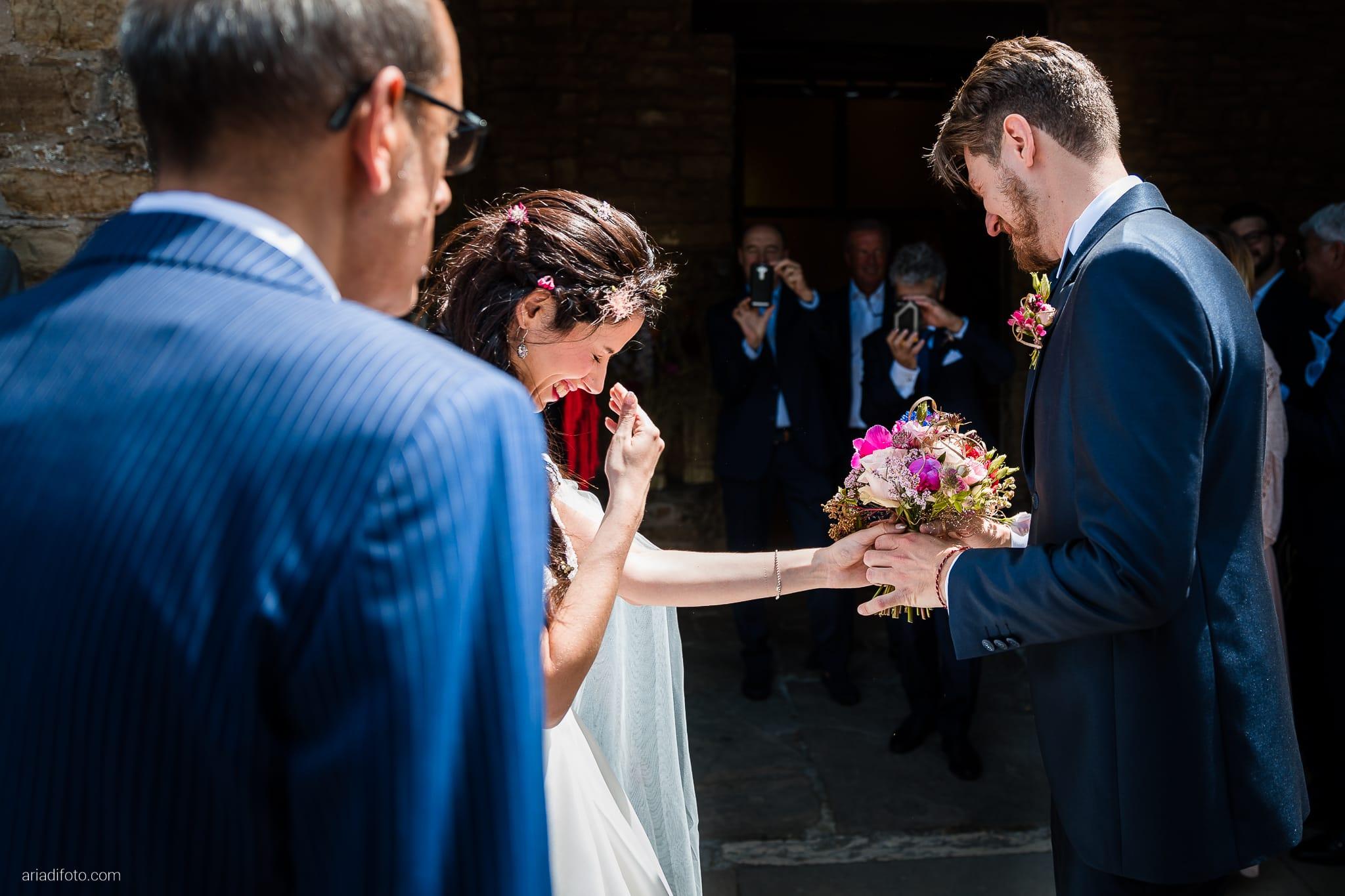 Giorgia Davide Matrimonio Chiesa Santa Maria Assunta Muggia Vecchia Trieste Baronesse Tacco San Floriano Del Collio Gorizia cerimonia ingresso sposa