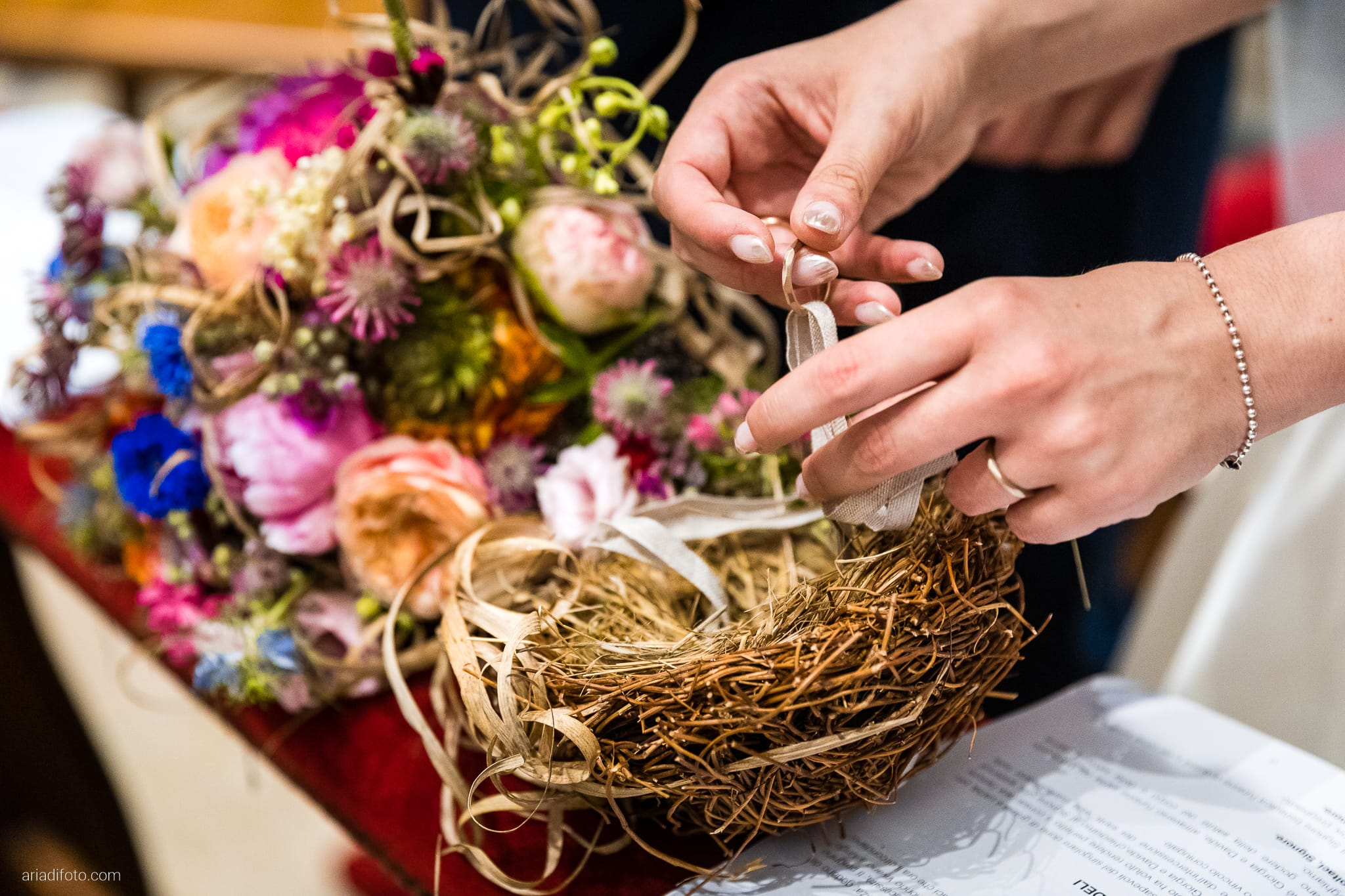 Giorgia Davide Matrimonio Chiesa Santa Maria Assunta Muggia Vecchia Trieste Baronesse Tacco San Floriano Del Collio Gorizia cerimonia promesse scambio degli anelli