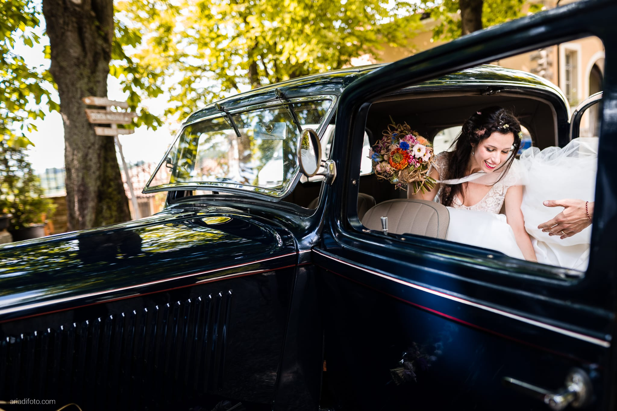 Giorgia Davide Matrimonio Muggia Trieste Baronesse Tacco San Floriano Del Collio Gorizia ricevimento auto sposi