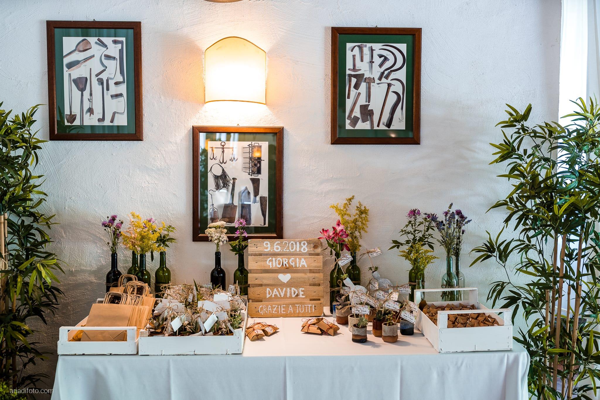 Giorgia Davide Matrimonio Muggia Trieste Baronesse Tacco San Floriano Del Collio Gorizia ricevimento sala decorazioni centrotavola allestimenti bomboniere tavolo imperiale