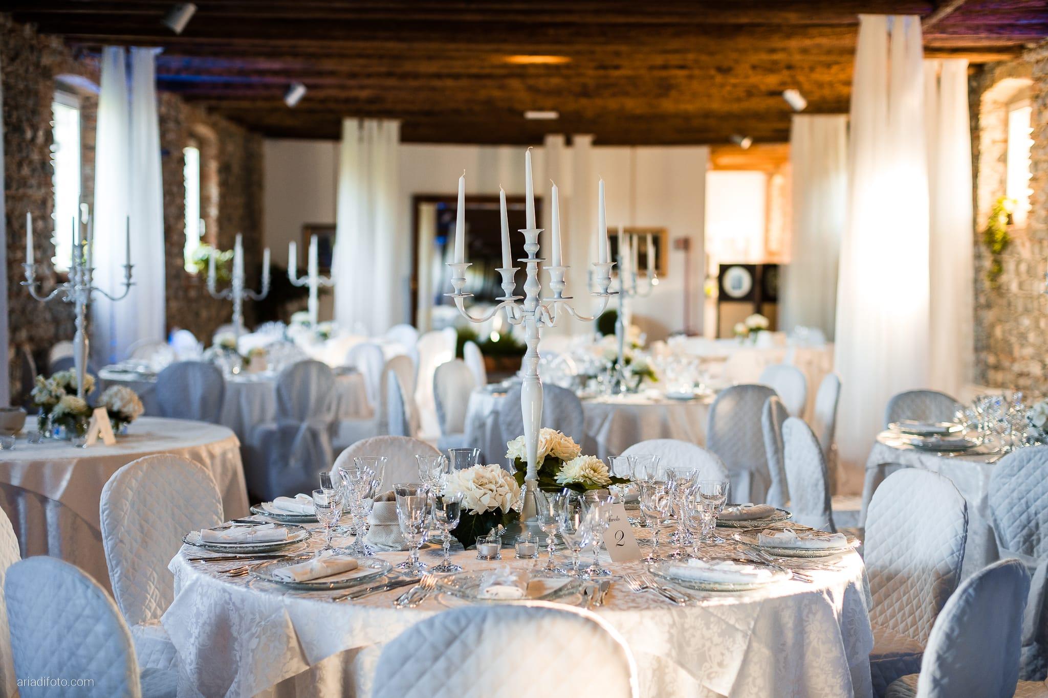 Lavinia Daniele Matrimonio Medea Gorizia Villa Elodia Trivignano Udinese Udine ricevimento dettagli sala decorazioni centrotavola allestimenti