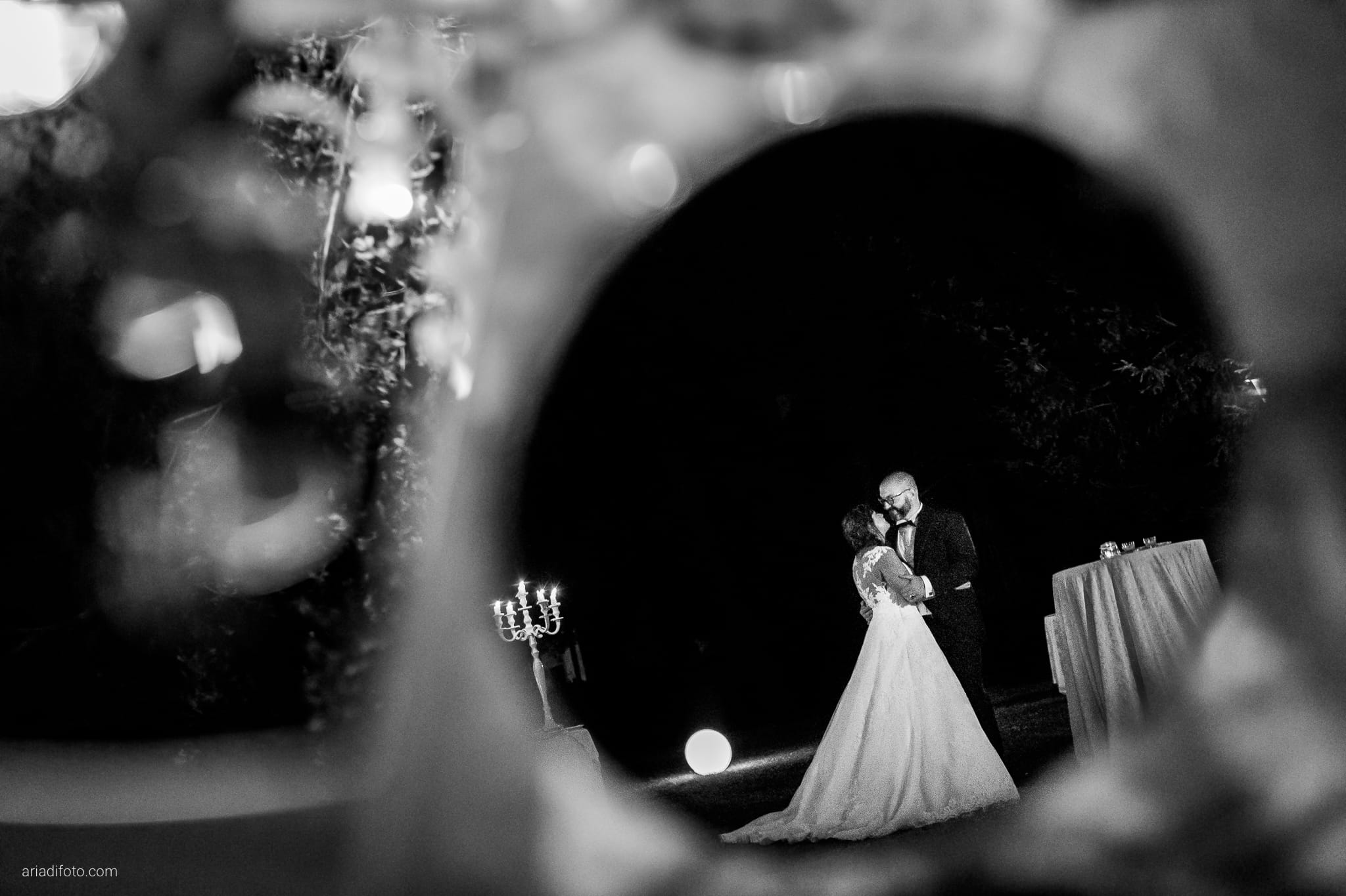 Lavinia Daniele Matrimonio Medea Gorizia Villa Elodia Trivignano Udinese Udine ritratti sposi notturni