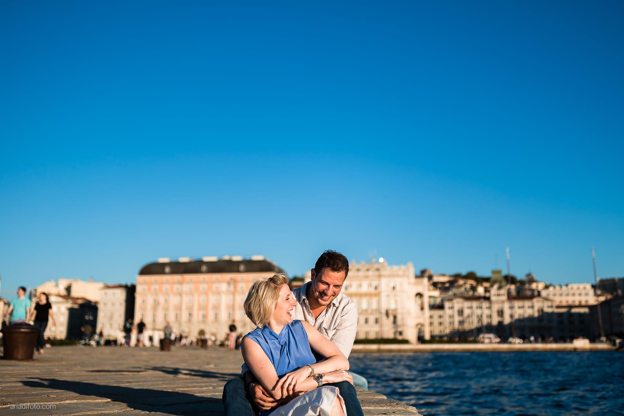Lauren Michele Prematrimoniale tramonto Trieste
