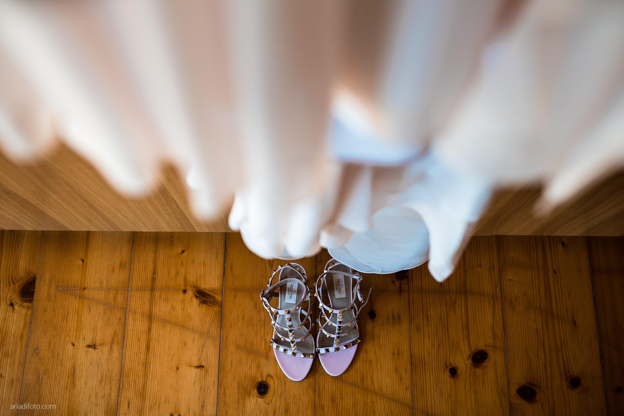 Stefania Raffaele Matrimonio Country Chic Outdoor Gorizia dettagli scarpe abito