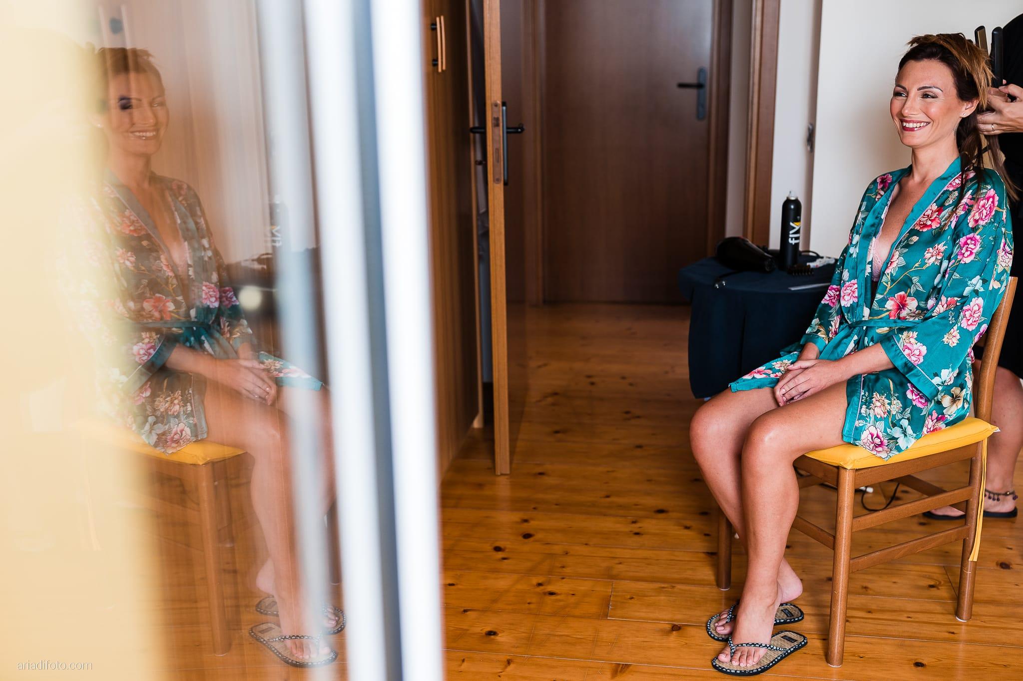 Stefania Raffaele Matrimonio Country Chic Outdoor Gorizia acconciatura