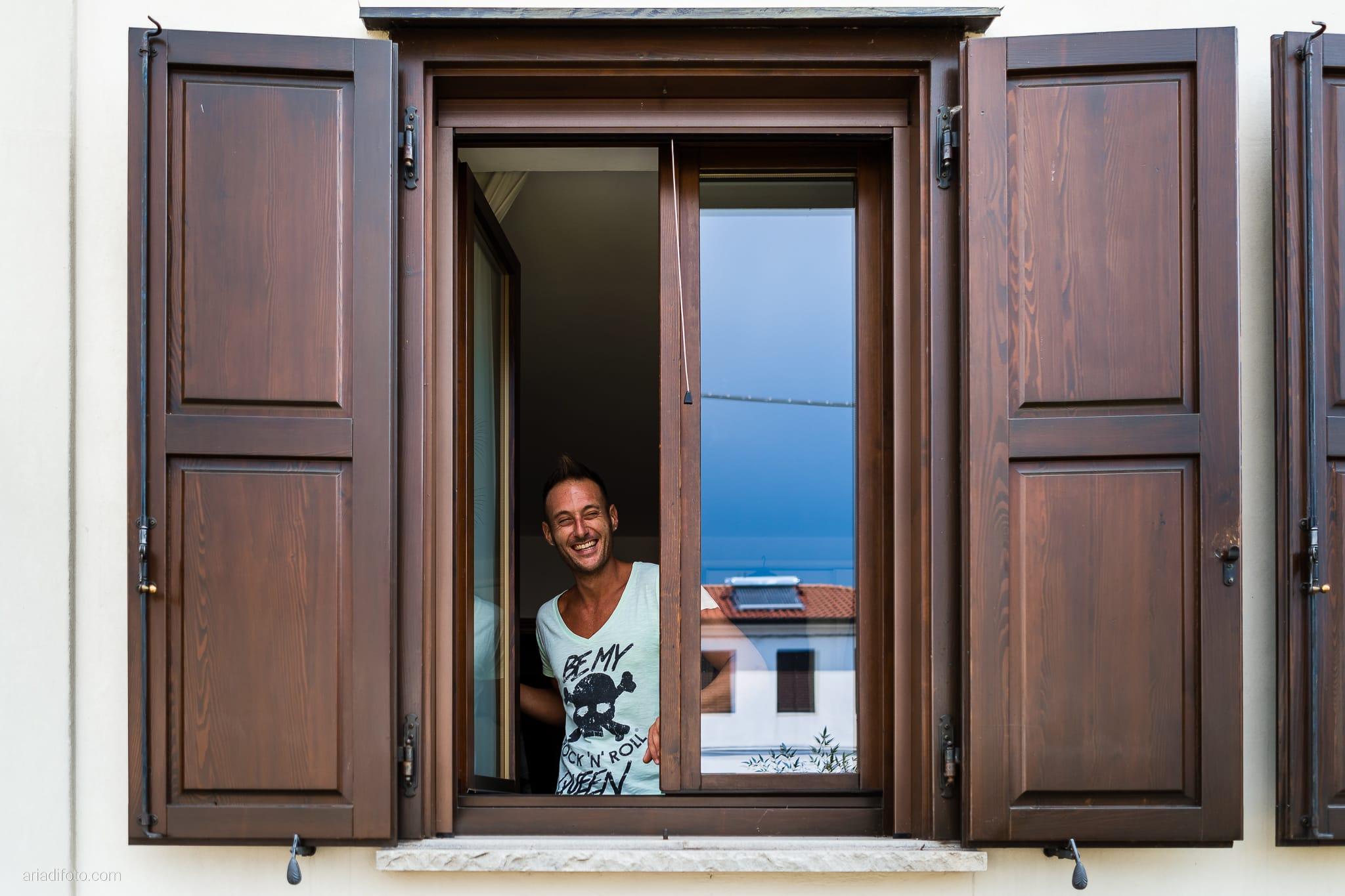 Stefania Raffaele Matrimonio Country Chic Outdoor Gorizia preparativi sposo momenti