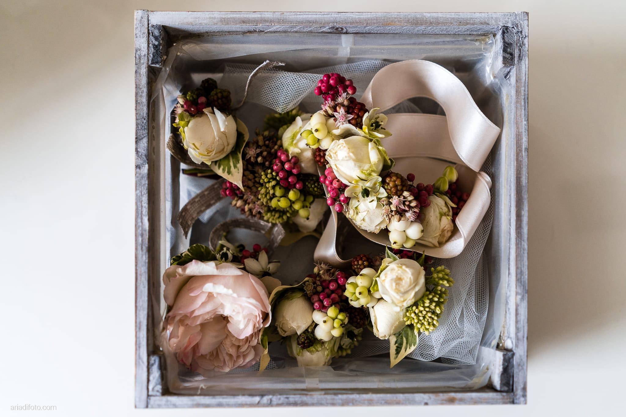 Stefania Raffaele Matrimonio Country Chic Outdoor Gorizia preparativi sposo dettagli fiore all'occhiello