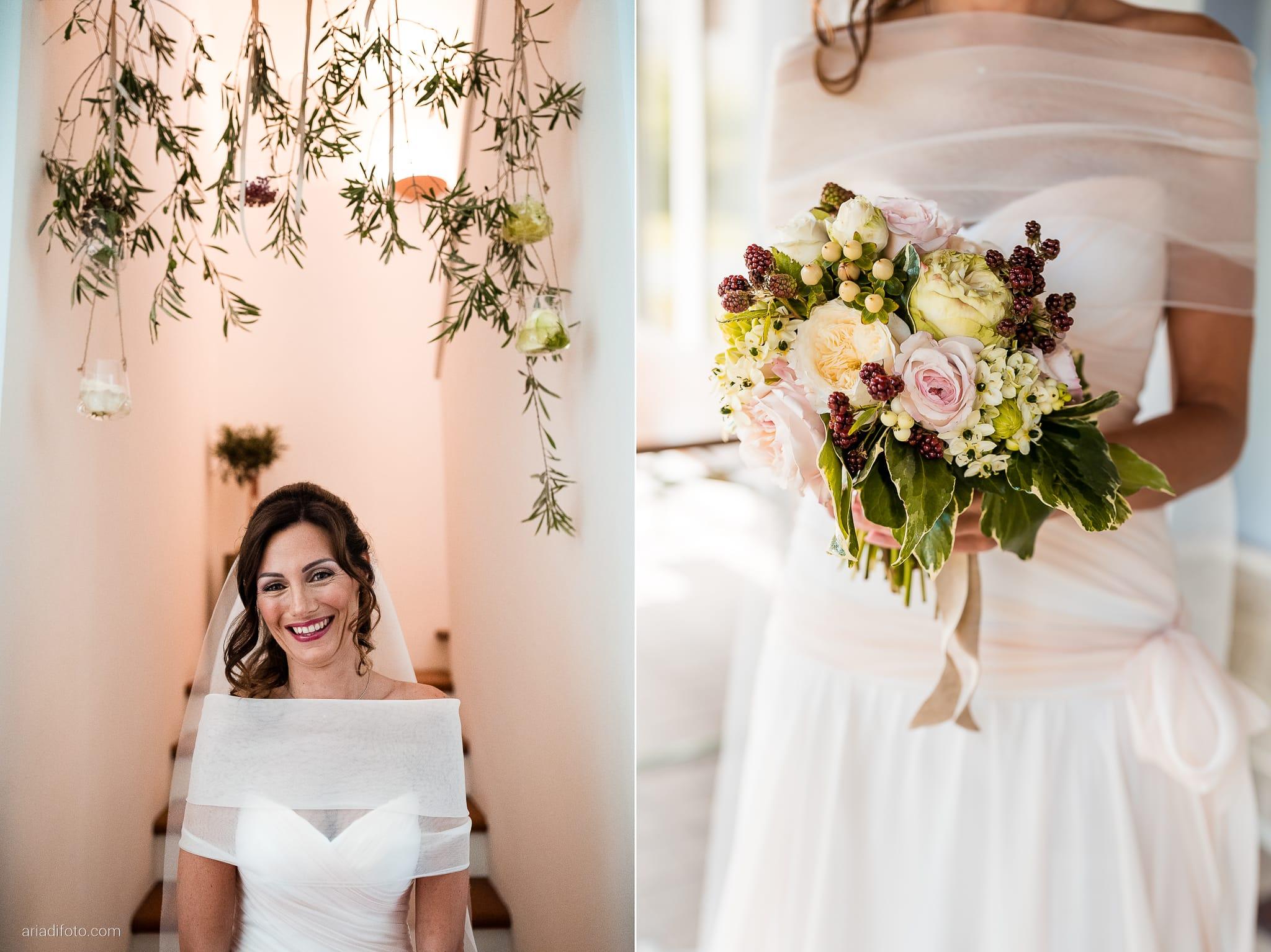 Stefania Raffaele Matrimonio Country Chic Outdoor Gorizia dettagli bouquet