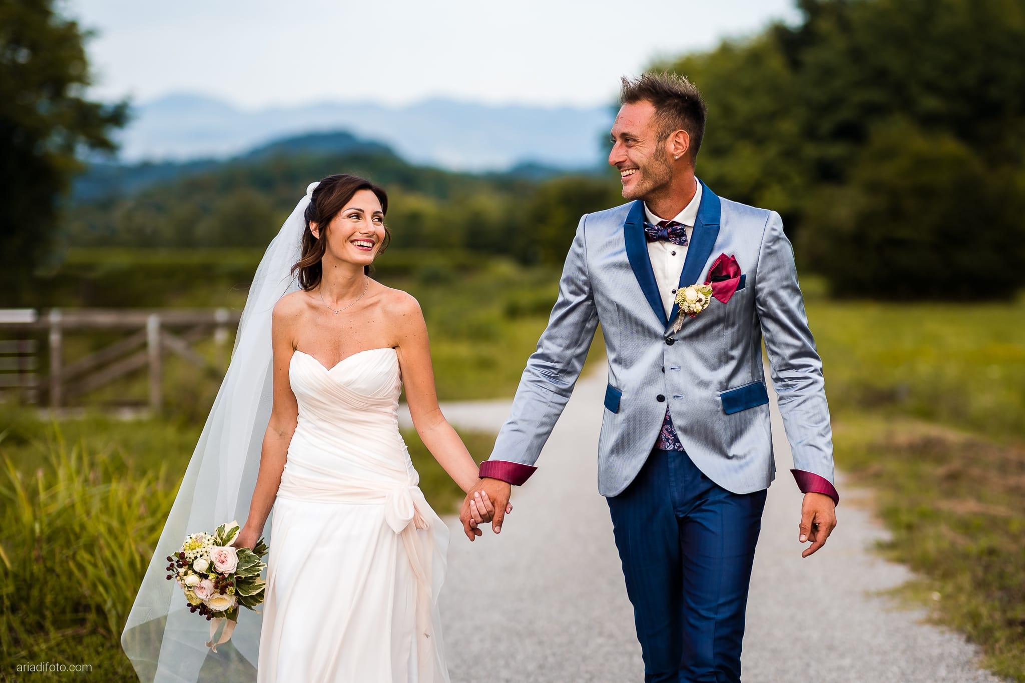 Stefania Raffaele Matrimonio Country Chic Outdoor Gorizia ritratti sposi