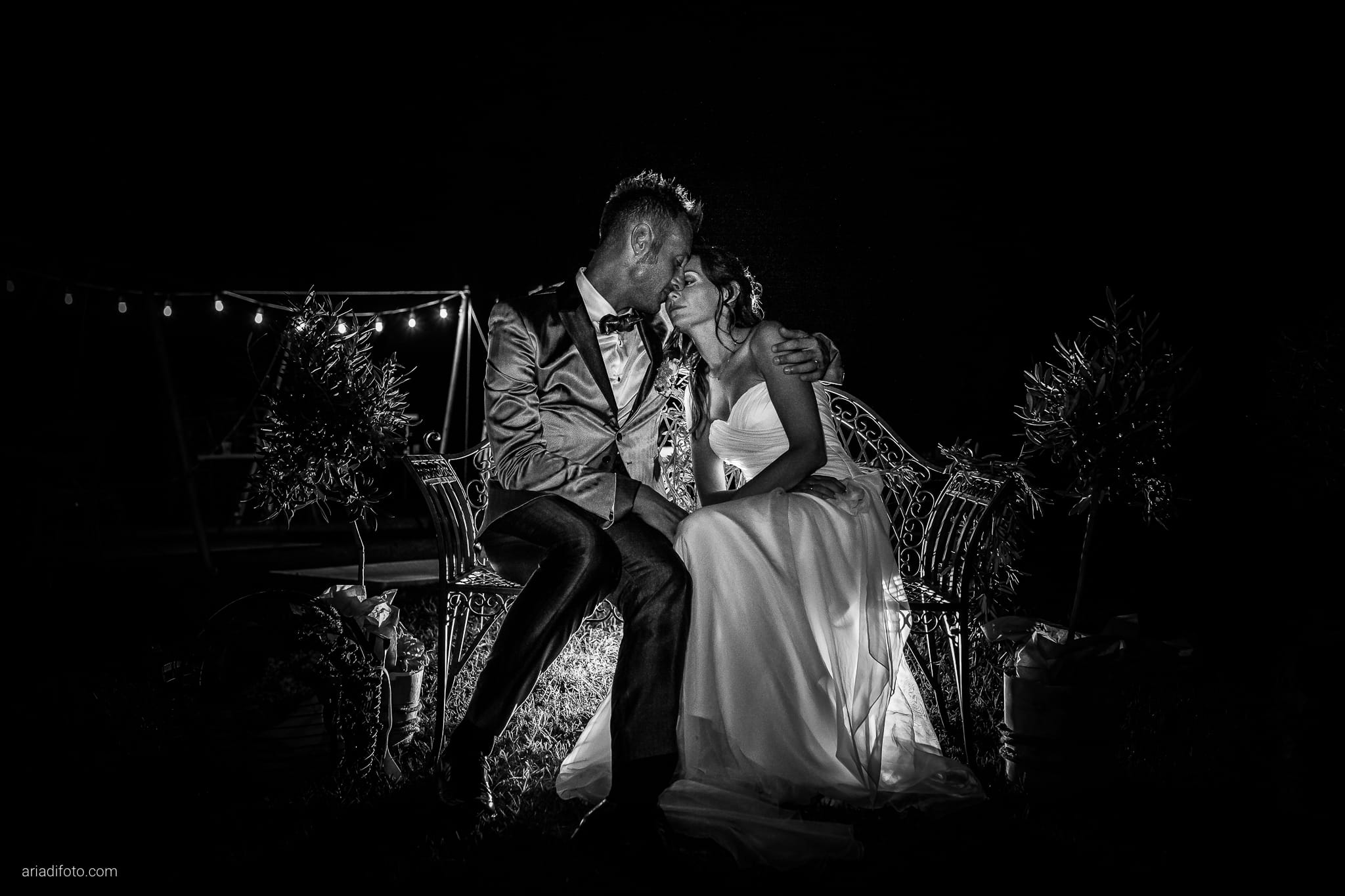 Stefania Raffaele Matrimonio Country Chic Outdoor Gorizia ritratti sposi notturni